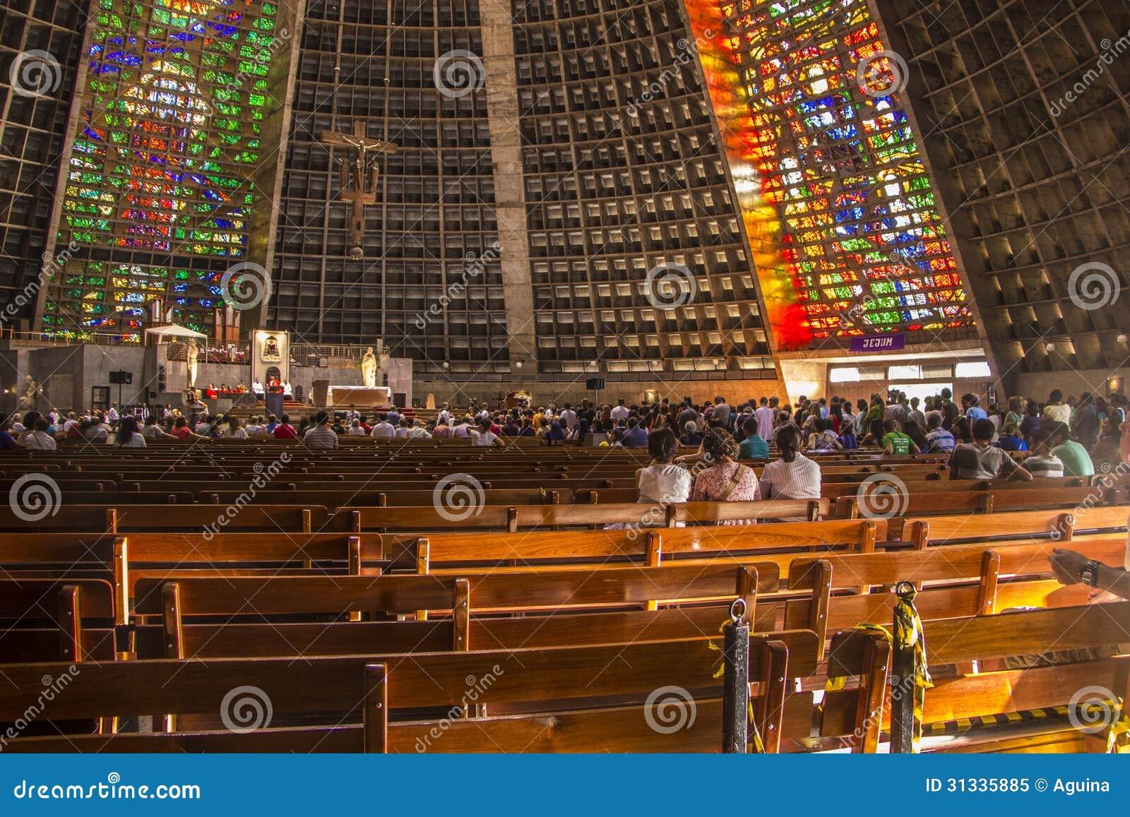Μητροπολιτικός καθεδρικός ναός Αγίου Sebastian - Ρίο ντε Τζανέιρο