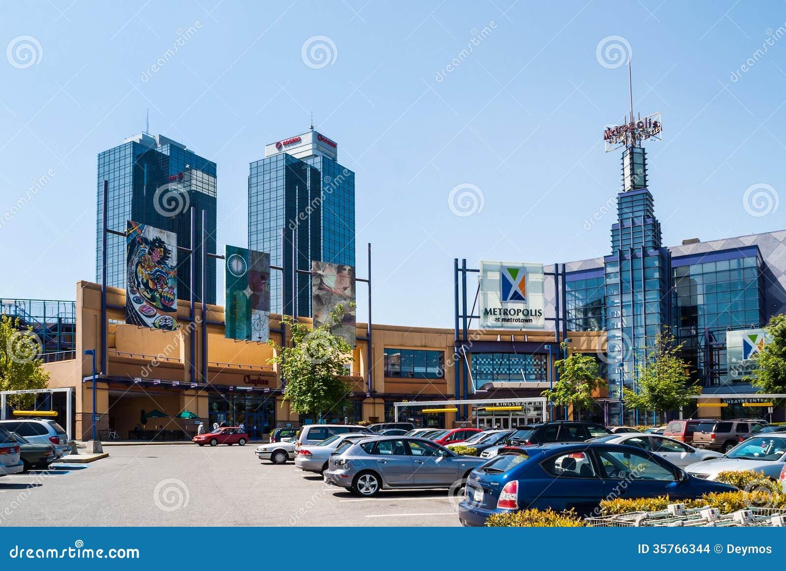 Μητρόπολη σε Metrotown, Βανκούβερ, Π.Χ.