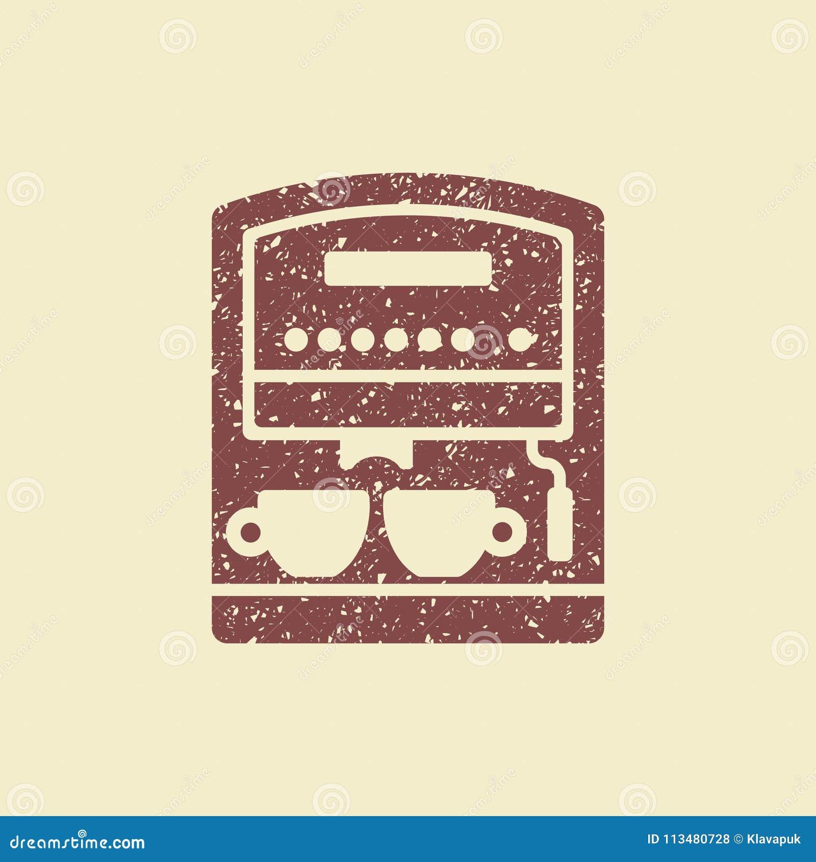 Μηχανή καφέ με τα φλυτζάνια