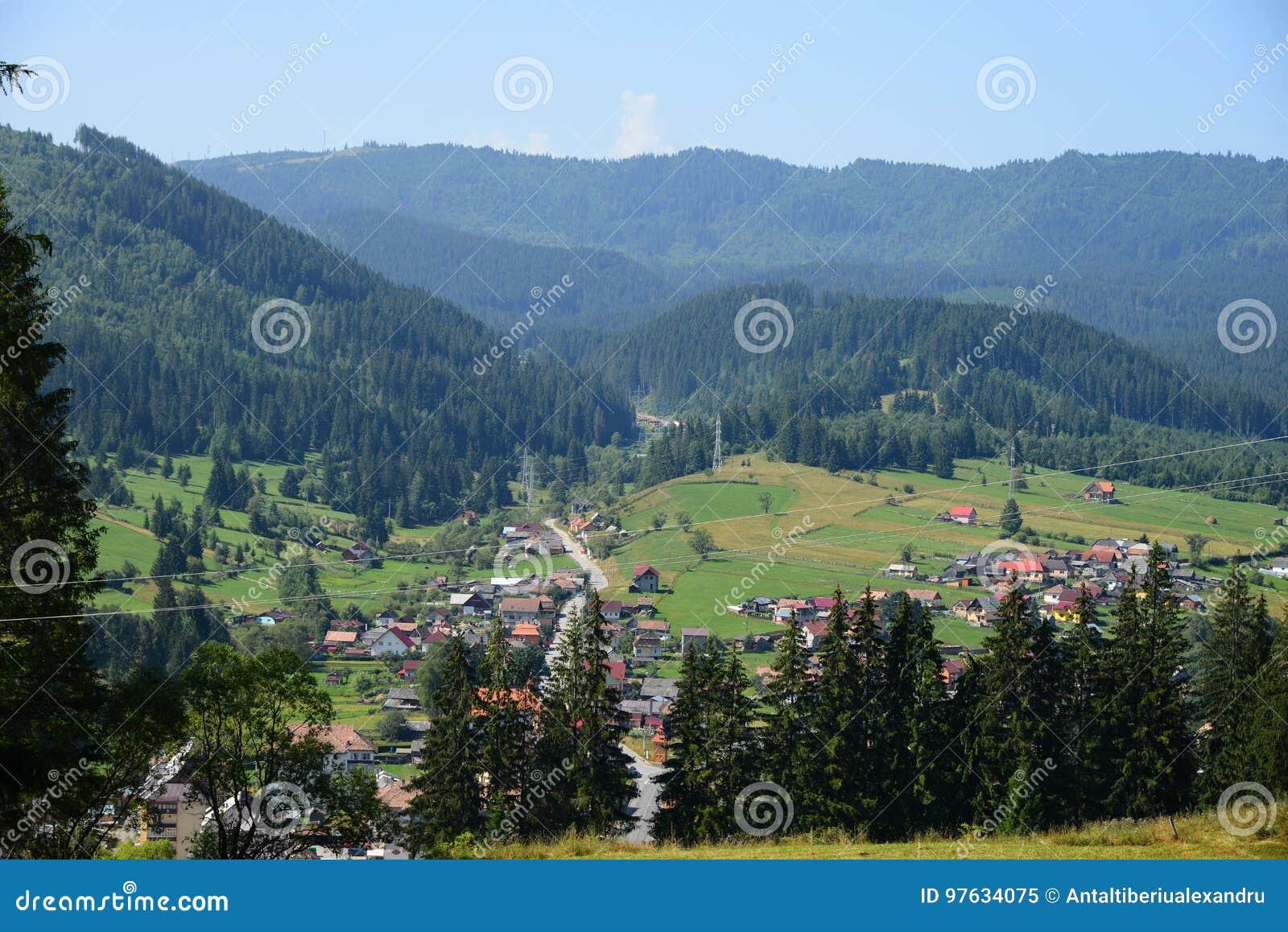 Μια άποψη της πόλης Borsec