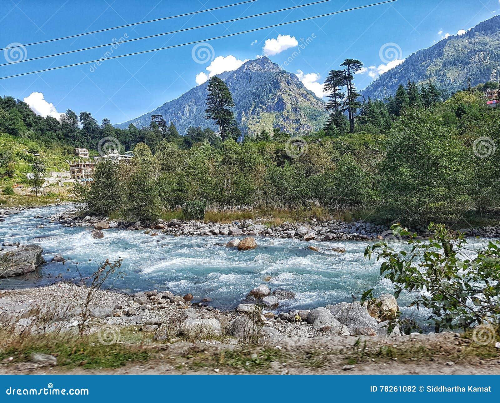 Μια άποψη του Beas ποταμού