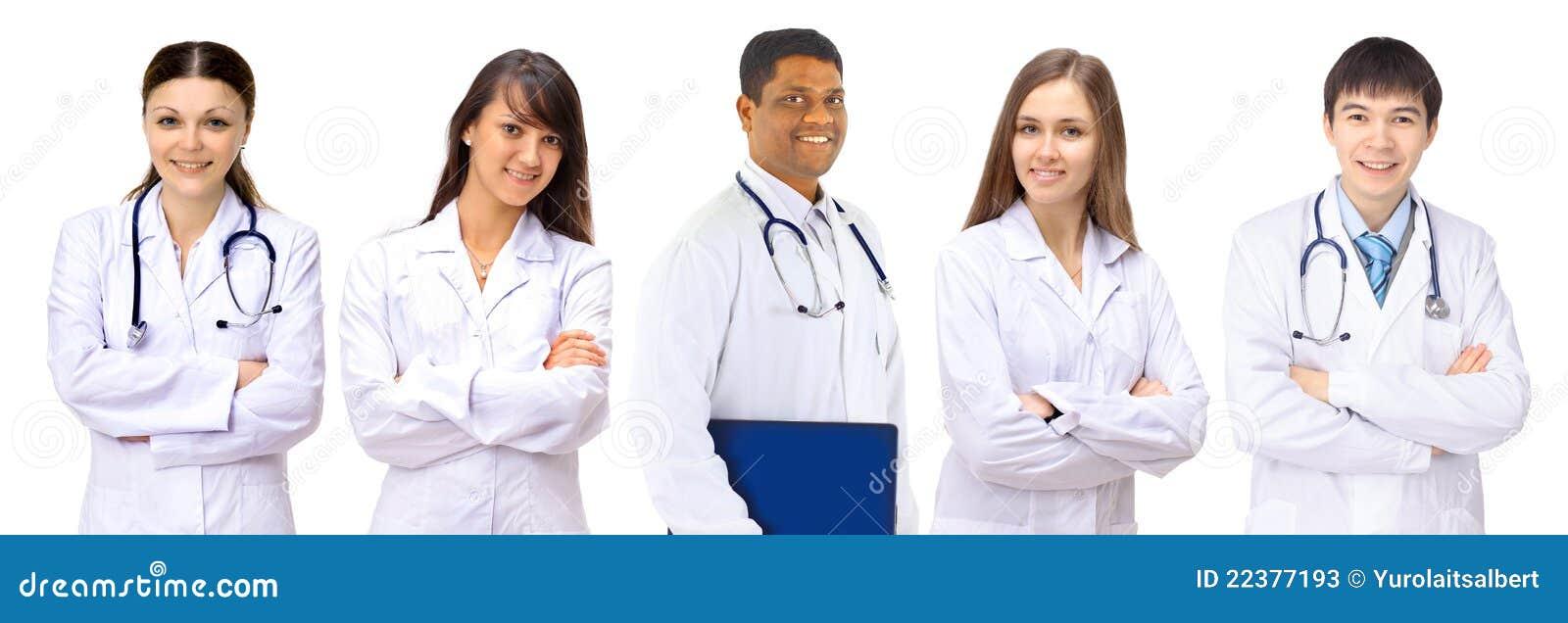 Μια ομάδα καλών γιατρών.