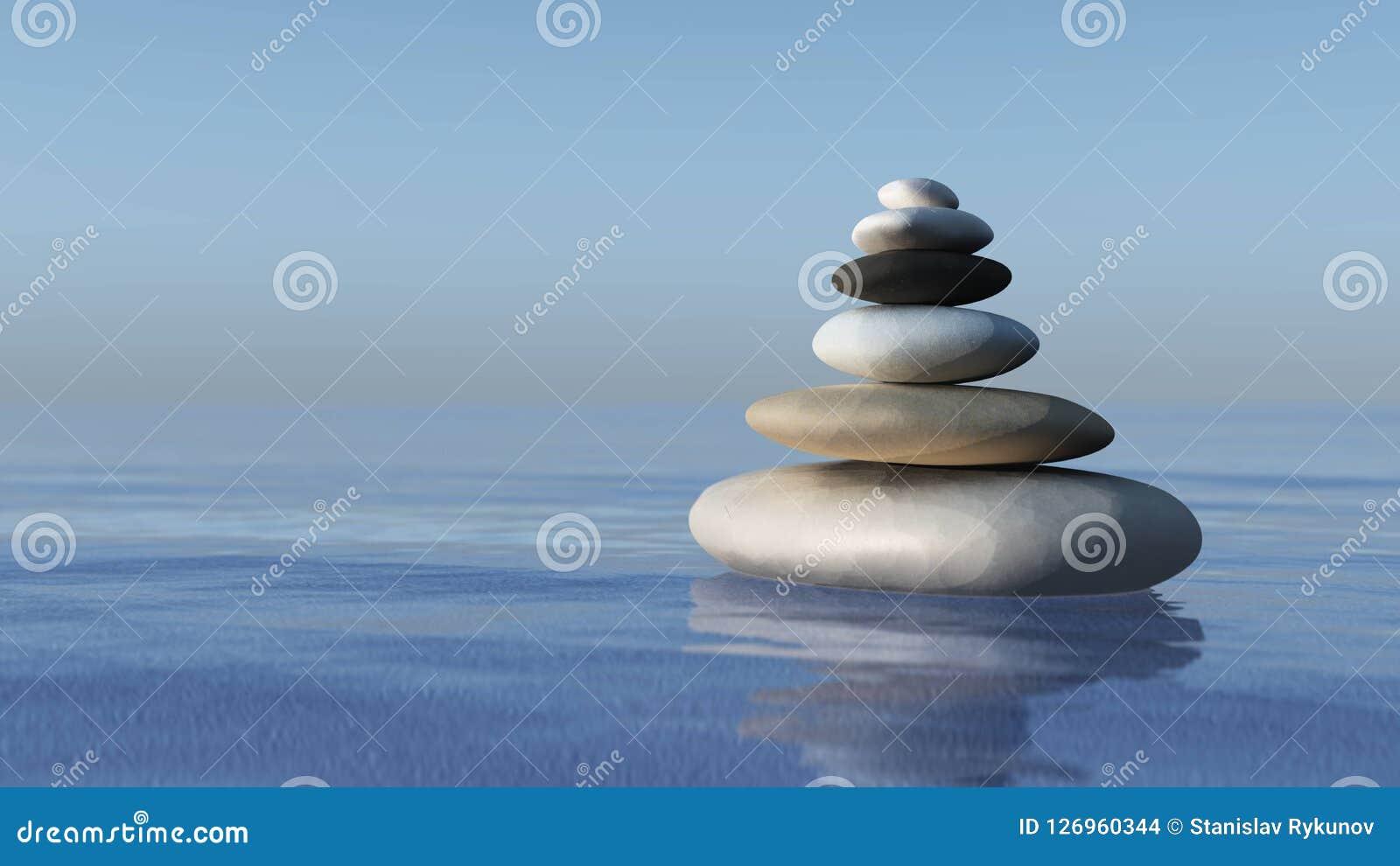 Μια πυραμίδα των πετρών