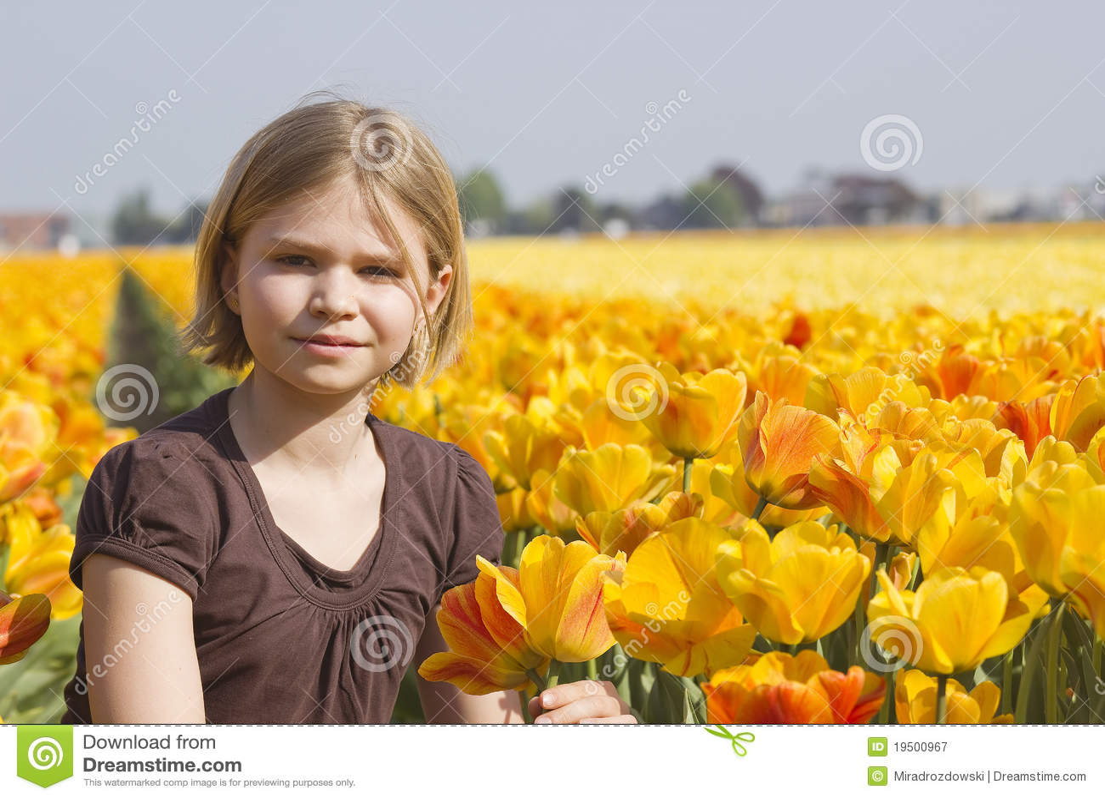 μικρές τουλίπες κοριτσ&iota