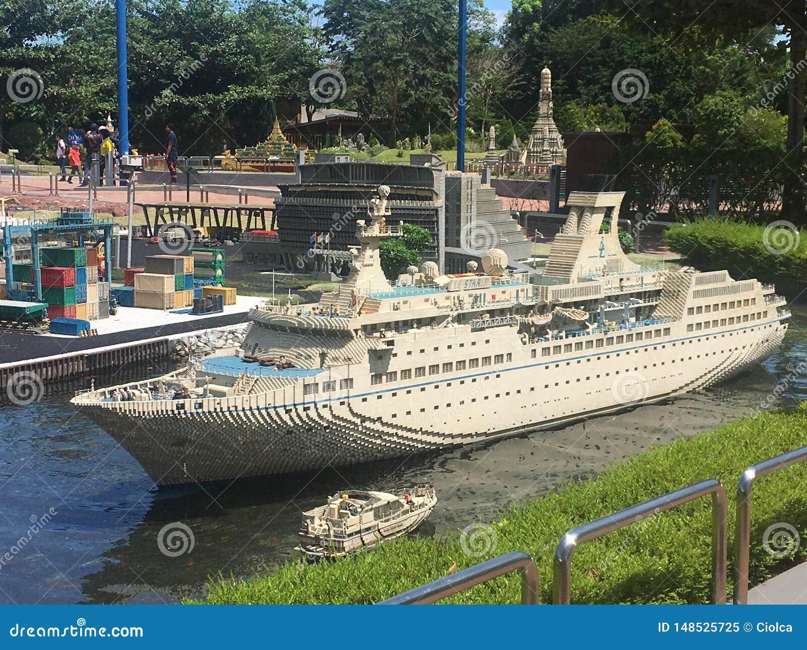 Μικρογραφία Lego σε Legoland Μαλαισία