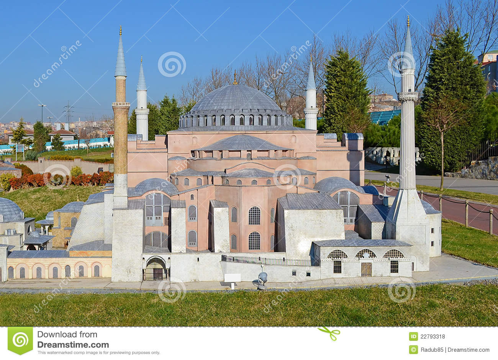 μικροσκοπικό μουσουλμανικό τέμενος
