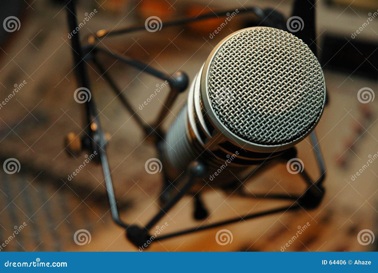 Download μικρόφωνο στοκ εικόνες. εικόνα από ραδιόφωνο, αρχείο, τηλεόραση - 64406