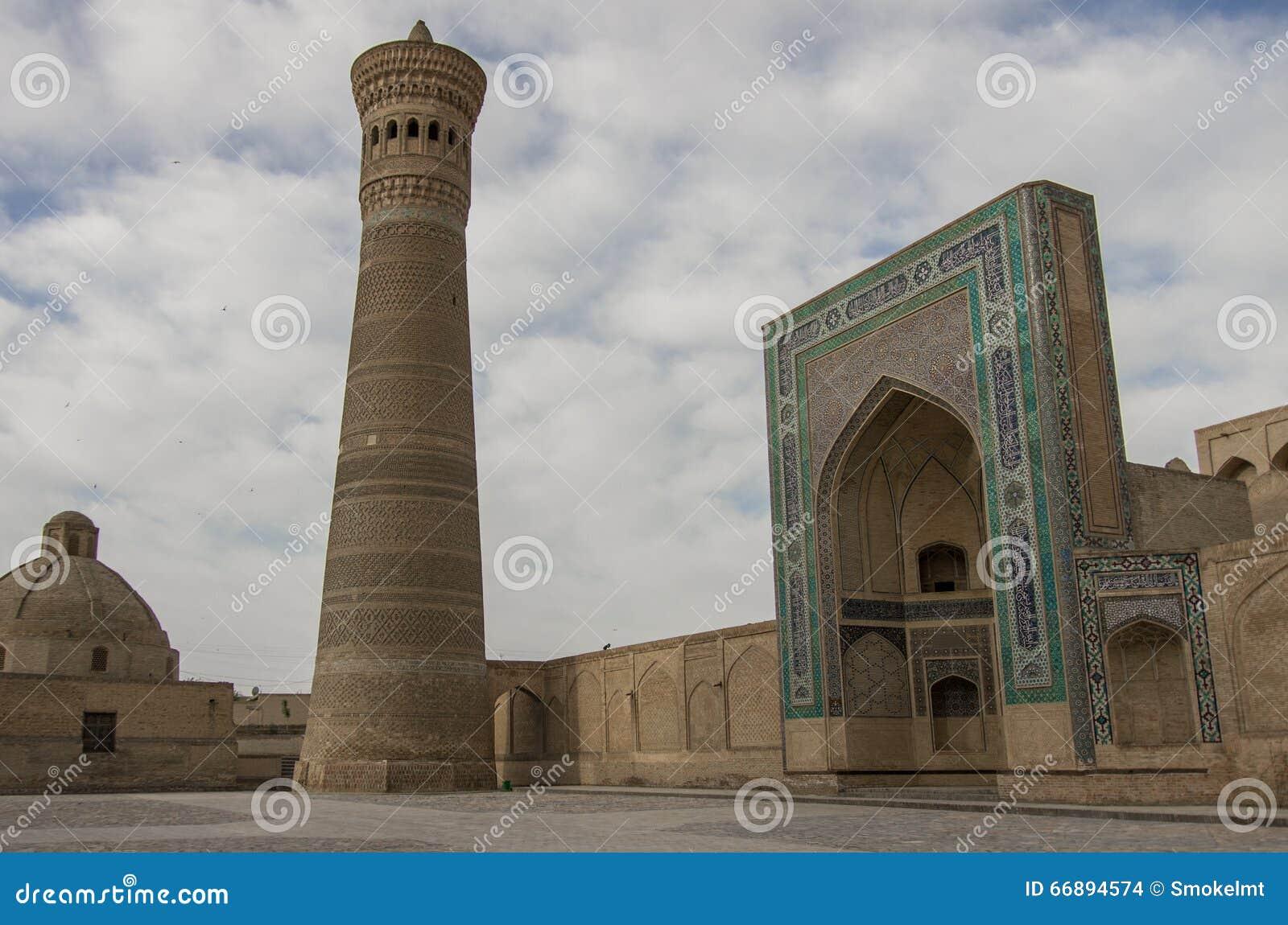 Μιναρές και μουσουλμανικό τέμενος Kalon
