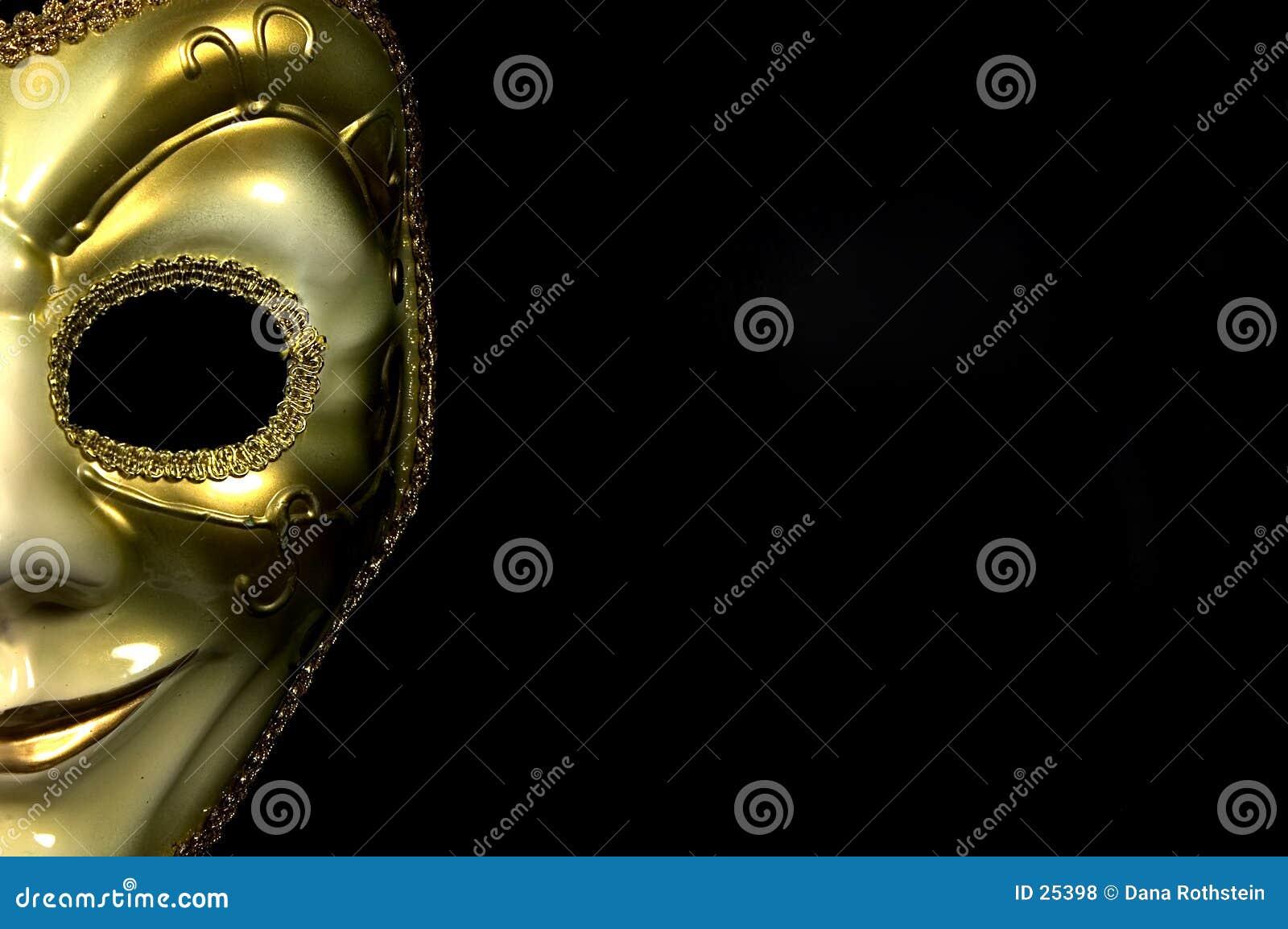 μισή μάσκα