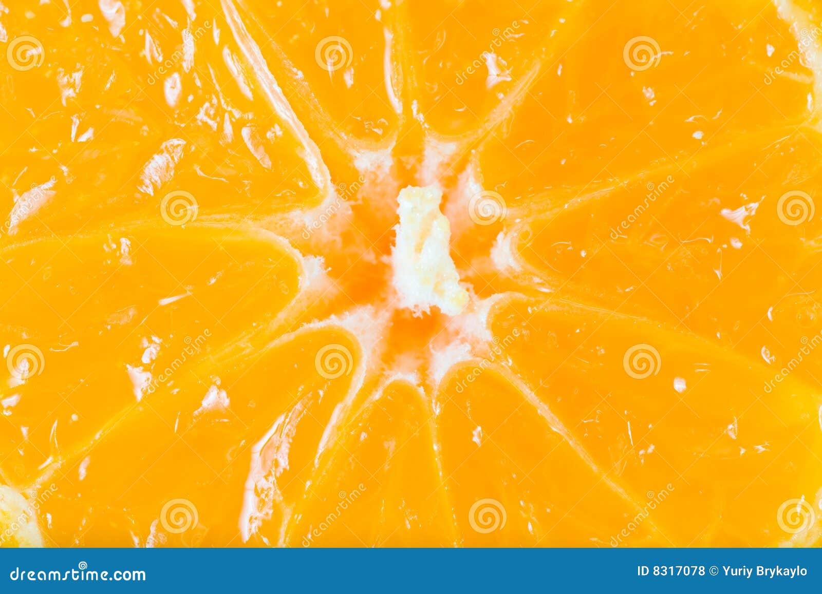 μισό tangerine