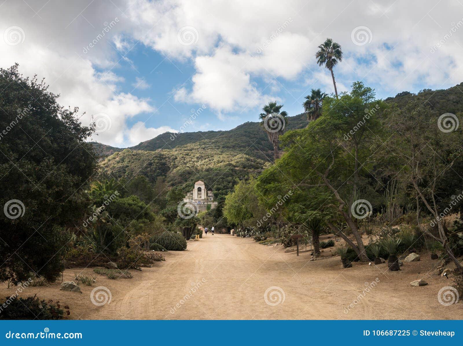 Μνημείο και βοτανικοί κήποι Wrigley στη Catalina Island