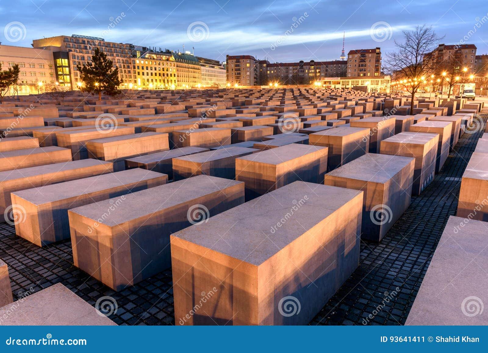 μνημείο ολοκαυτώματος του Βερολίνου Γερμανία