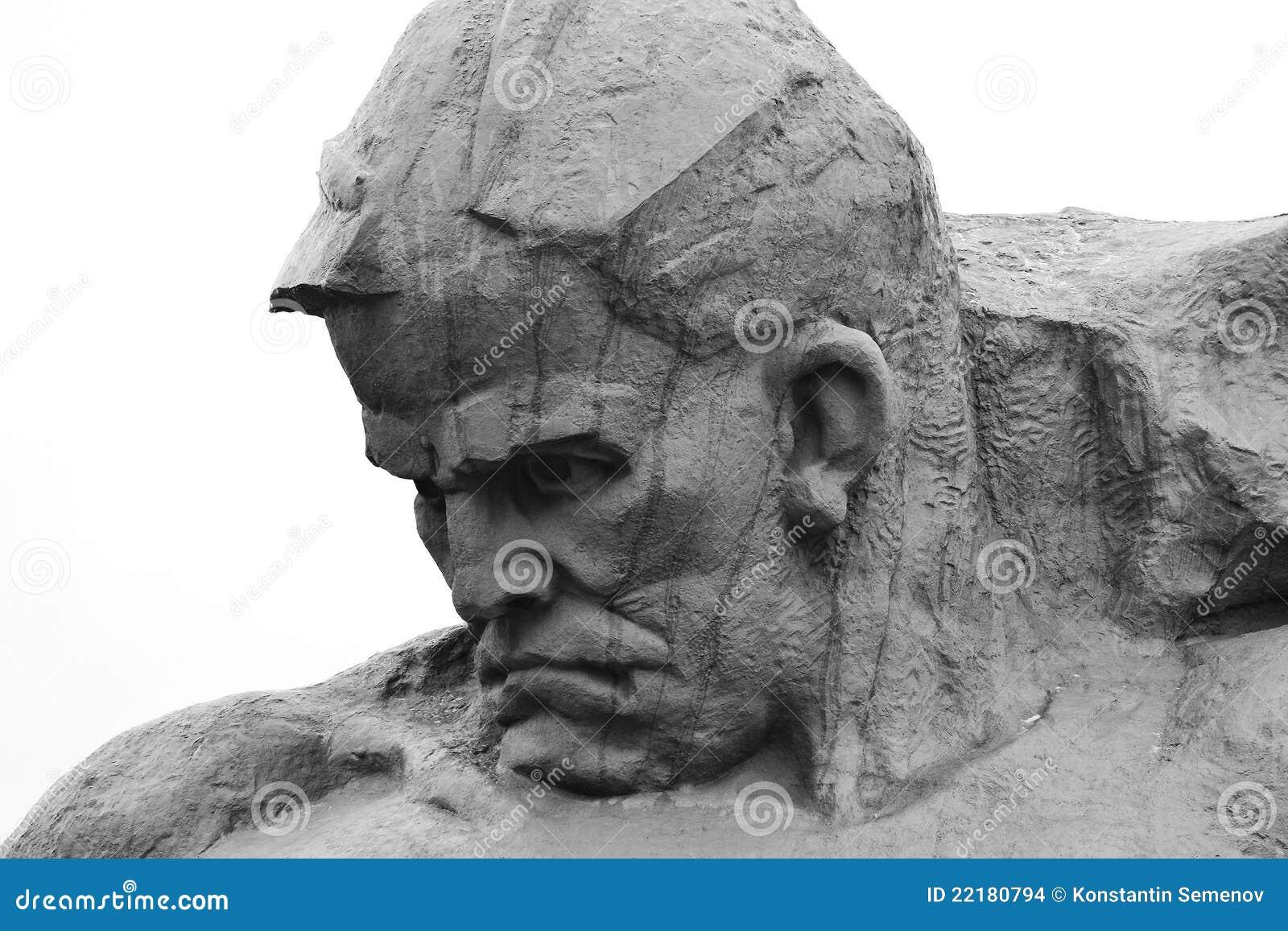 Μνημείο στους σοβιετικούς στρατιώτες στο φρούριο του Brest