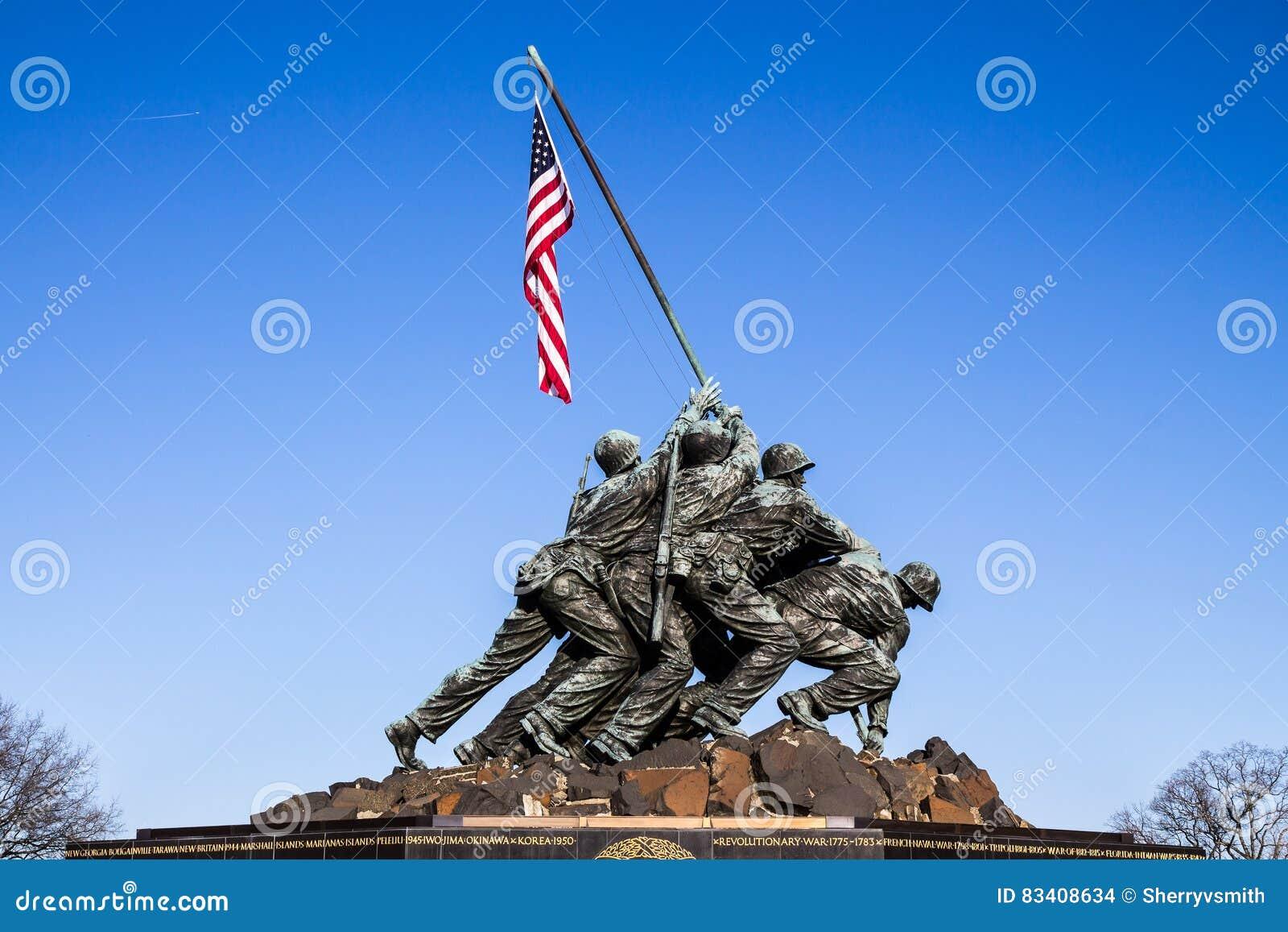 Μνημείο Στρατεύματος Πεζοναυτών στην Ουάσιγκτον, συνεχές ρεύμα