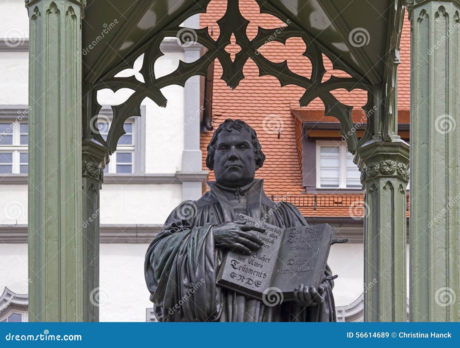 Μνημείο του Martin Luther σε Wittenberg