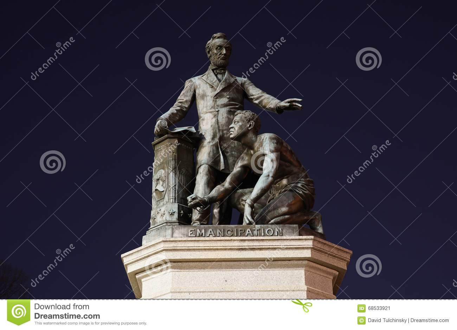 Μνημείο χειραφέτησης - πάρκο του Λίνκολν