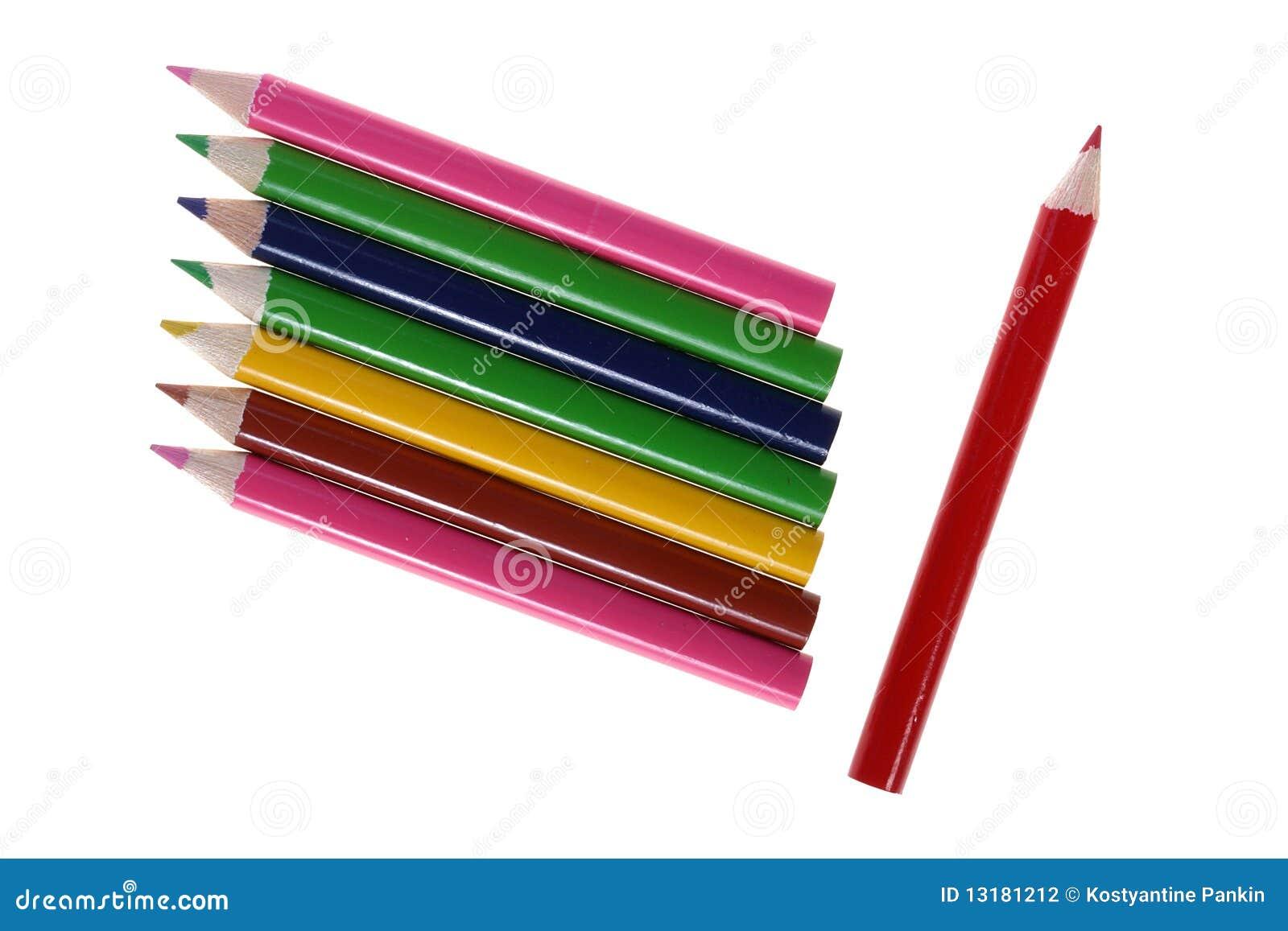 μολύβια χρώματος