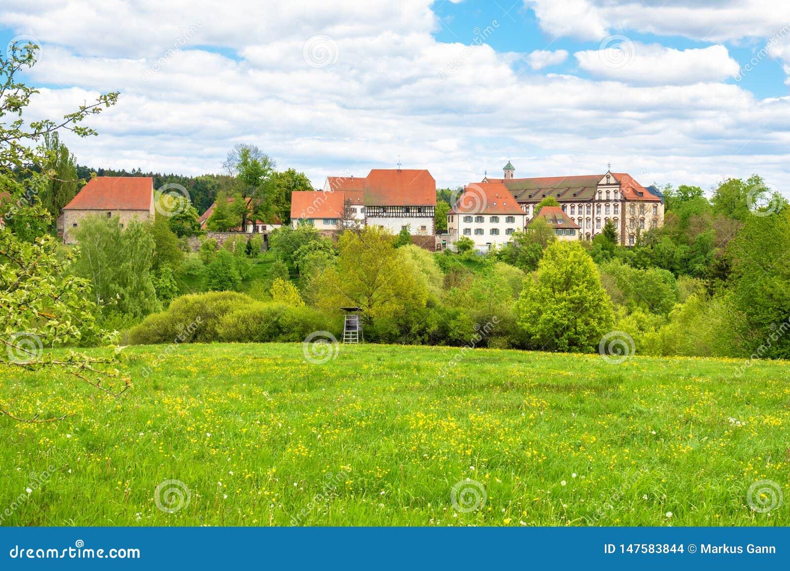 Μοναστήρι μονών Kirchberg που βρίσκεται σε Sulz Γερμανία