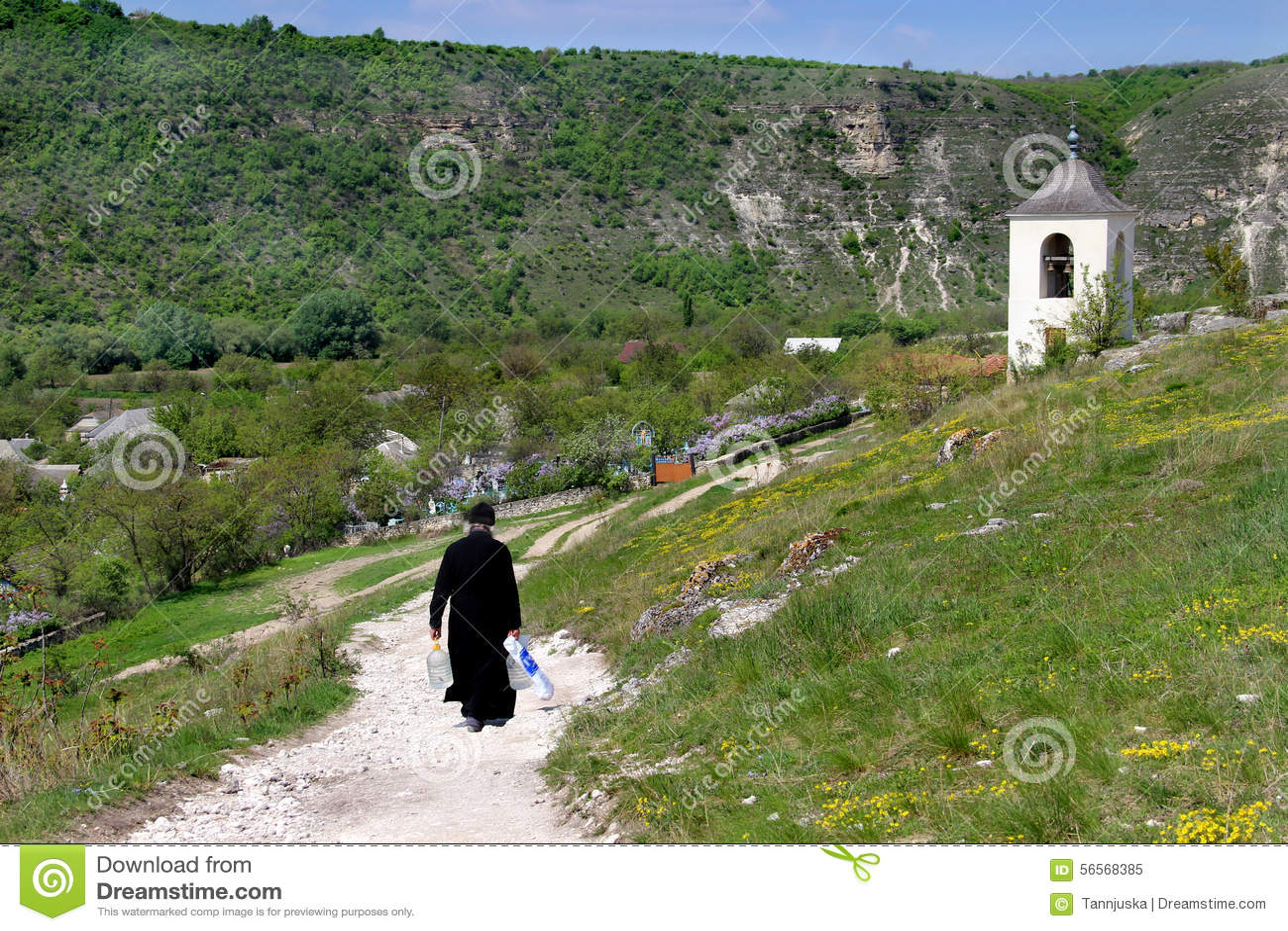 Download Μοναστήρι σπηλιών στη Μολδαβία, Orheiul Vechi Στοκ Εικόνα - εικόνα από οικολογία, χωριό: 56568385