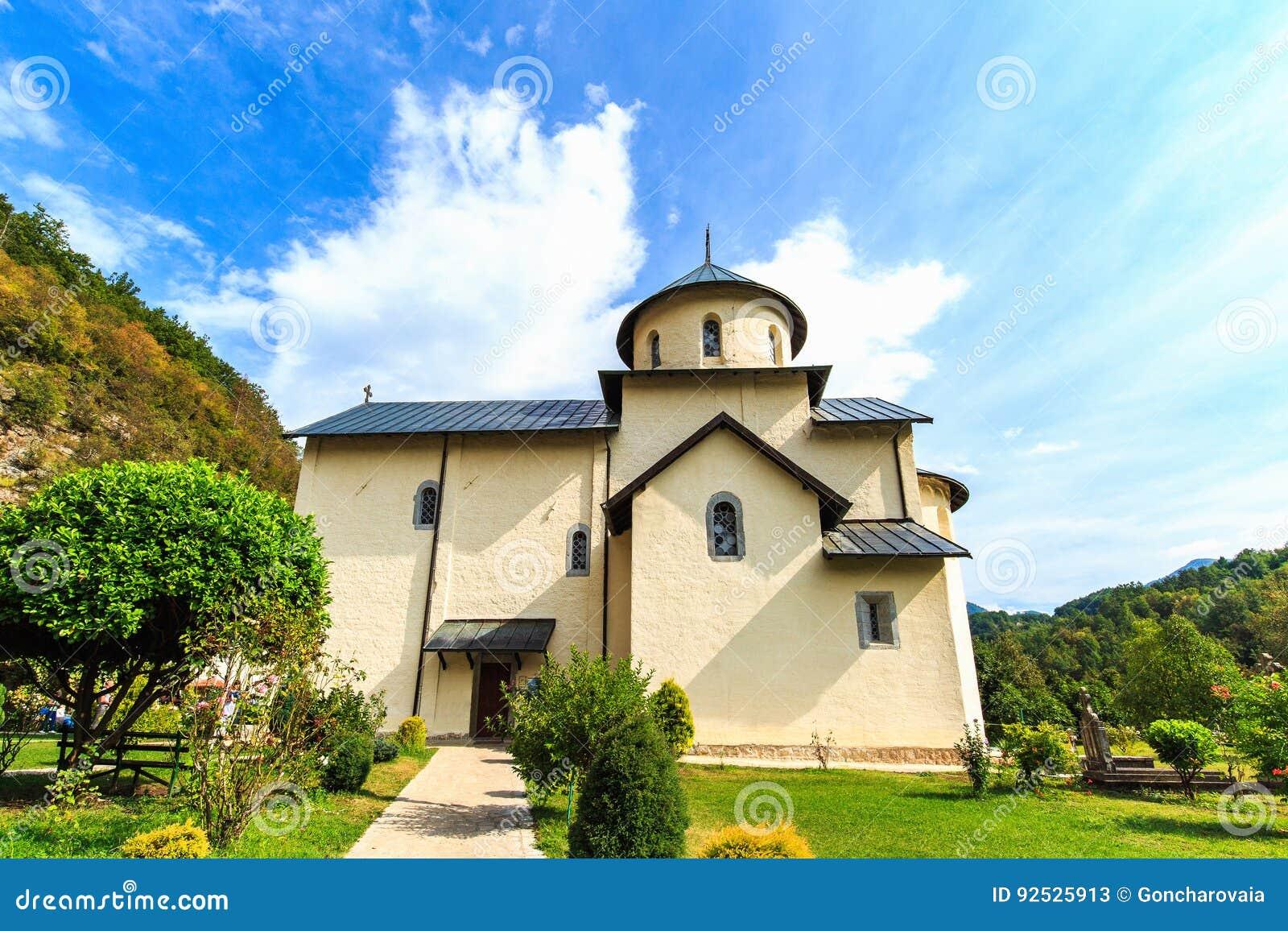 Μοναστήρι Moraca, μια σερβική Ορθόδοξη Εκκλησία σε Kolasin, Μαυροβούνιο