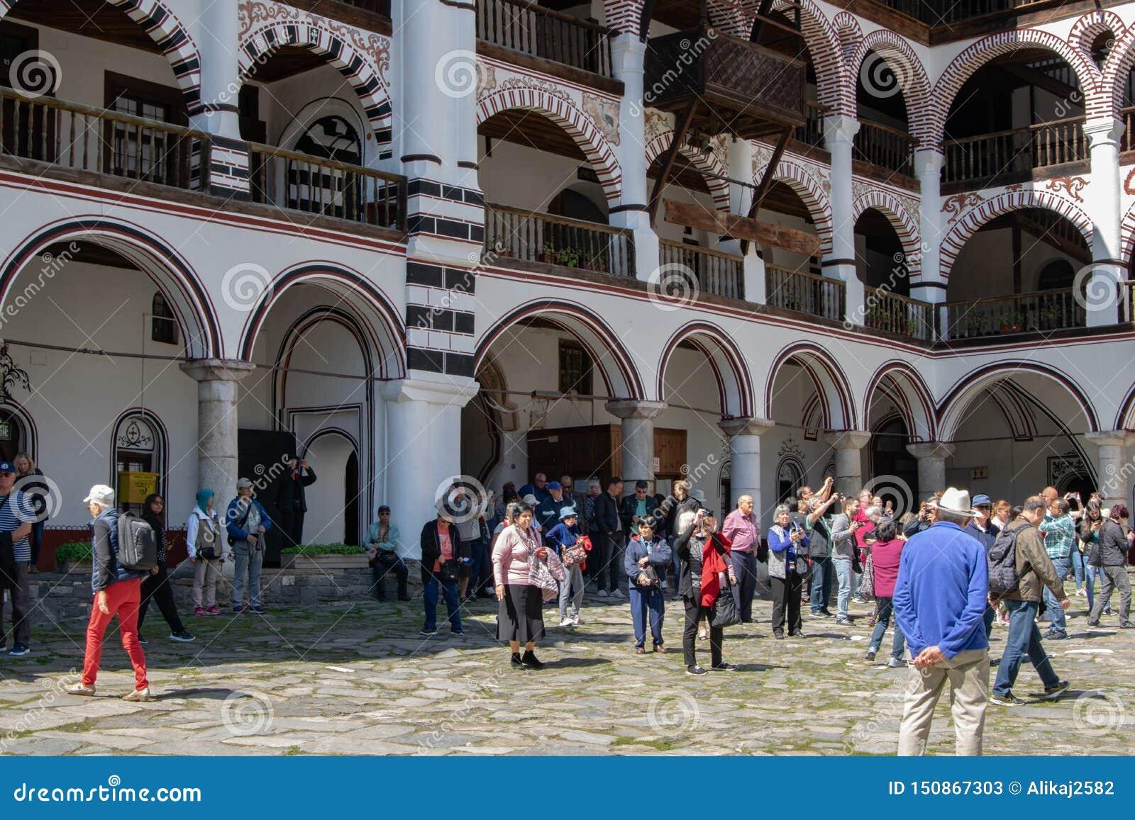 Μοναστήρι Rila, Βουλγαρία - θρησκευτικά μνημεία επίσκεψης τουριστών