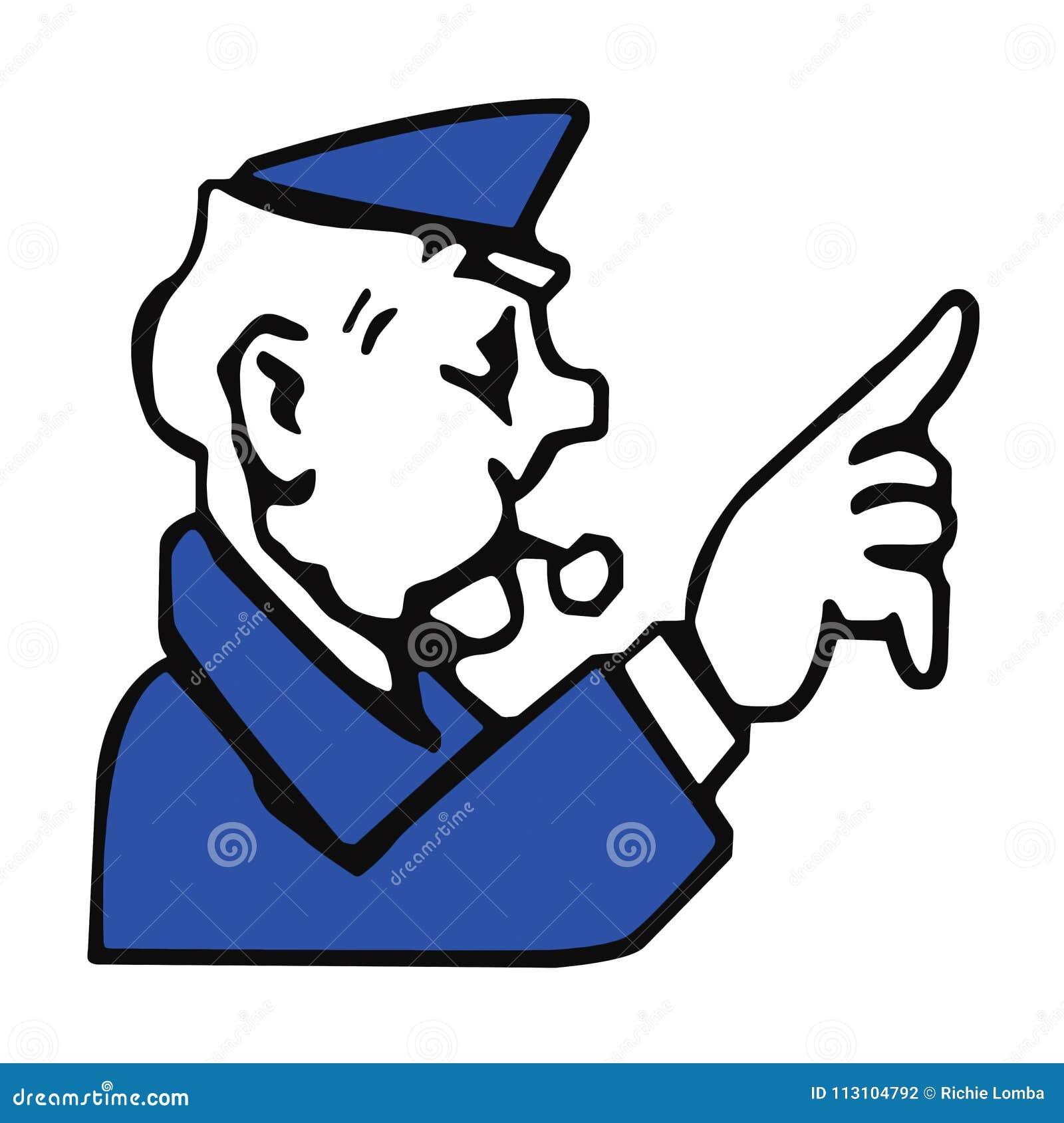 Μονοπωλιακός αστυνομικός