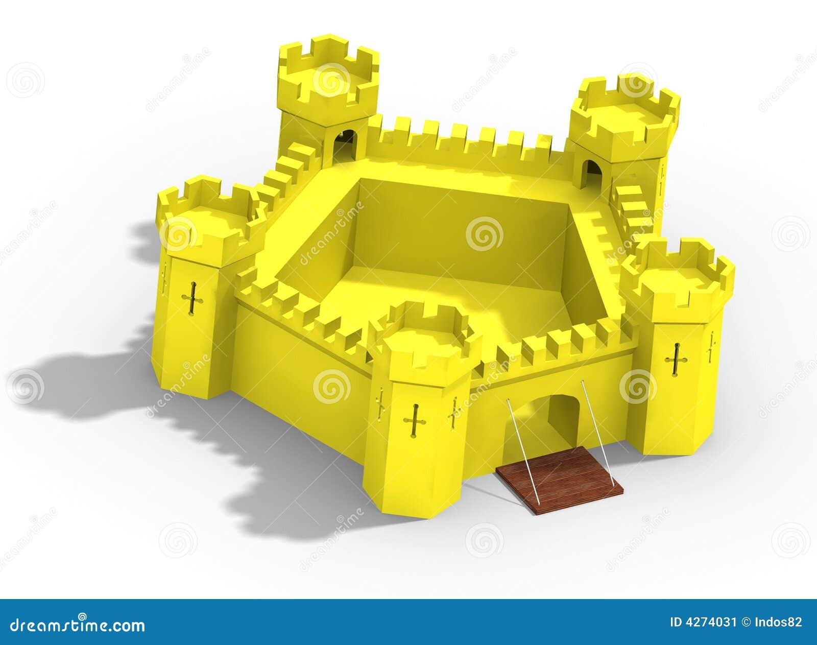 Μοντέλο του κίτρινου κάστρου