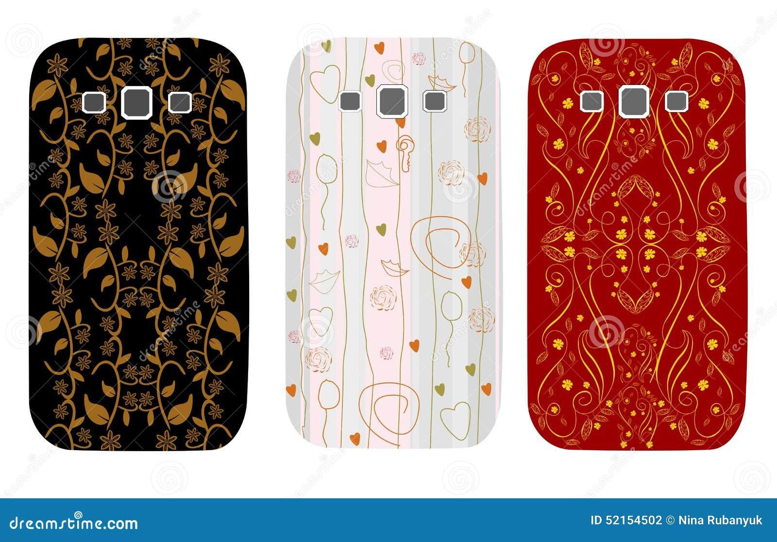 Μοντέρνες περιπτώσεις σχεδίου για τα τηλέφωνα