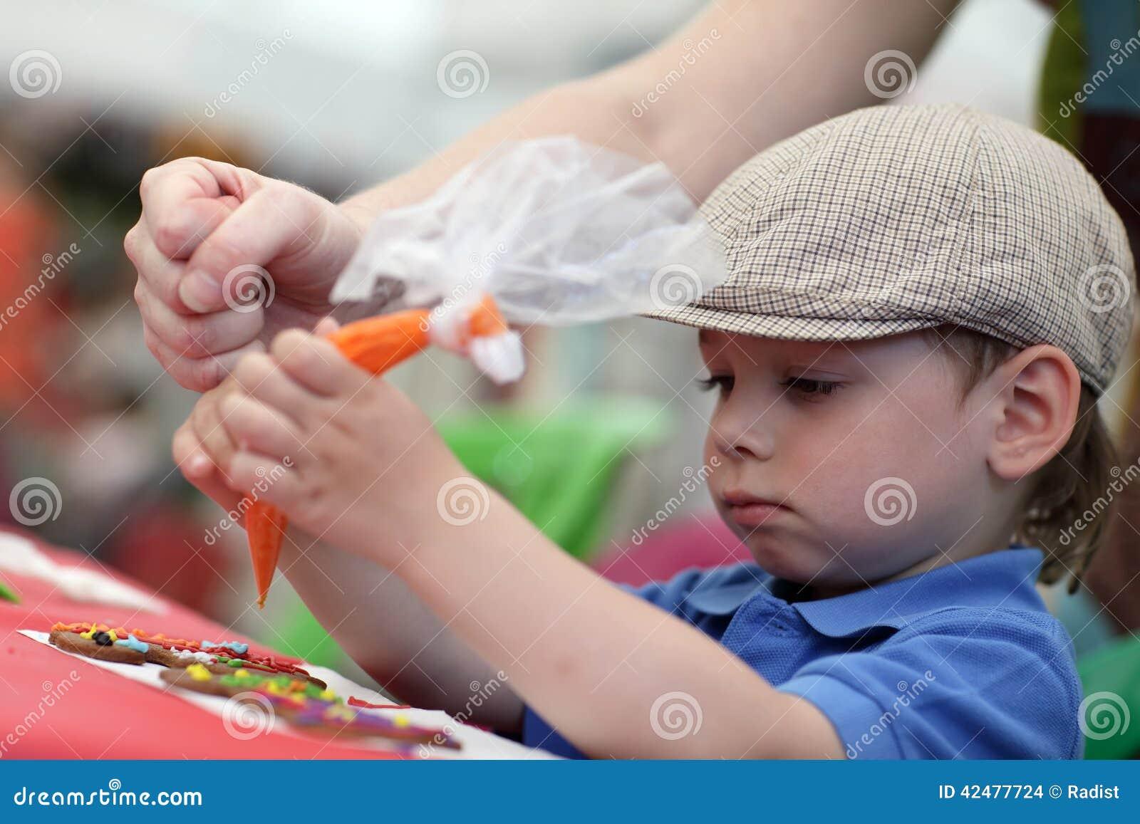 Μορφές μελοψωμάτων ζωγραφικής παιδιών