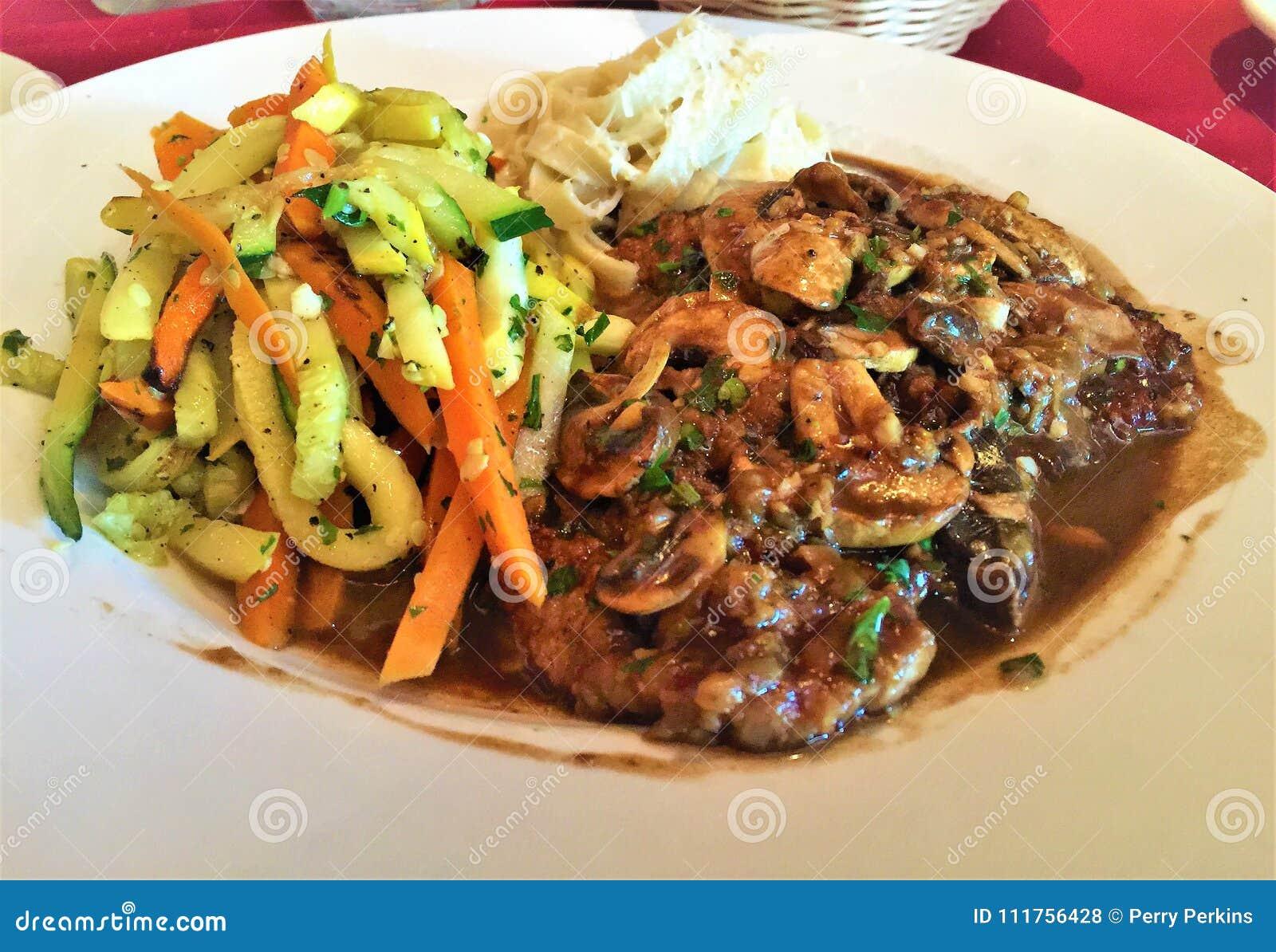 Μοσχαρίσιο κρέας Marsala