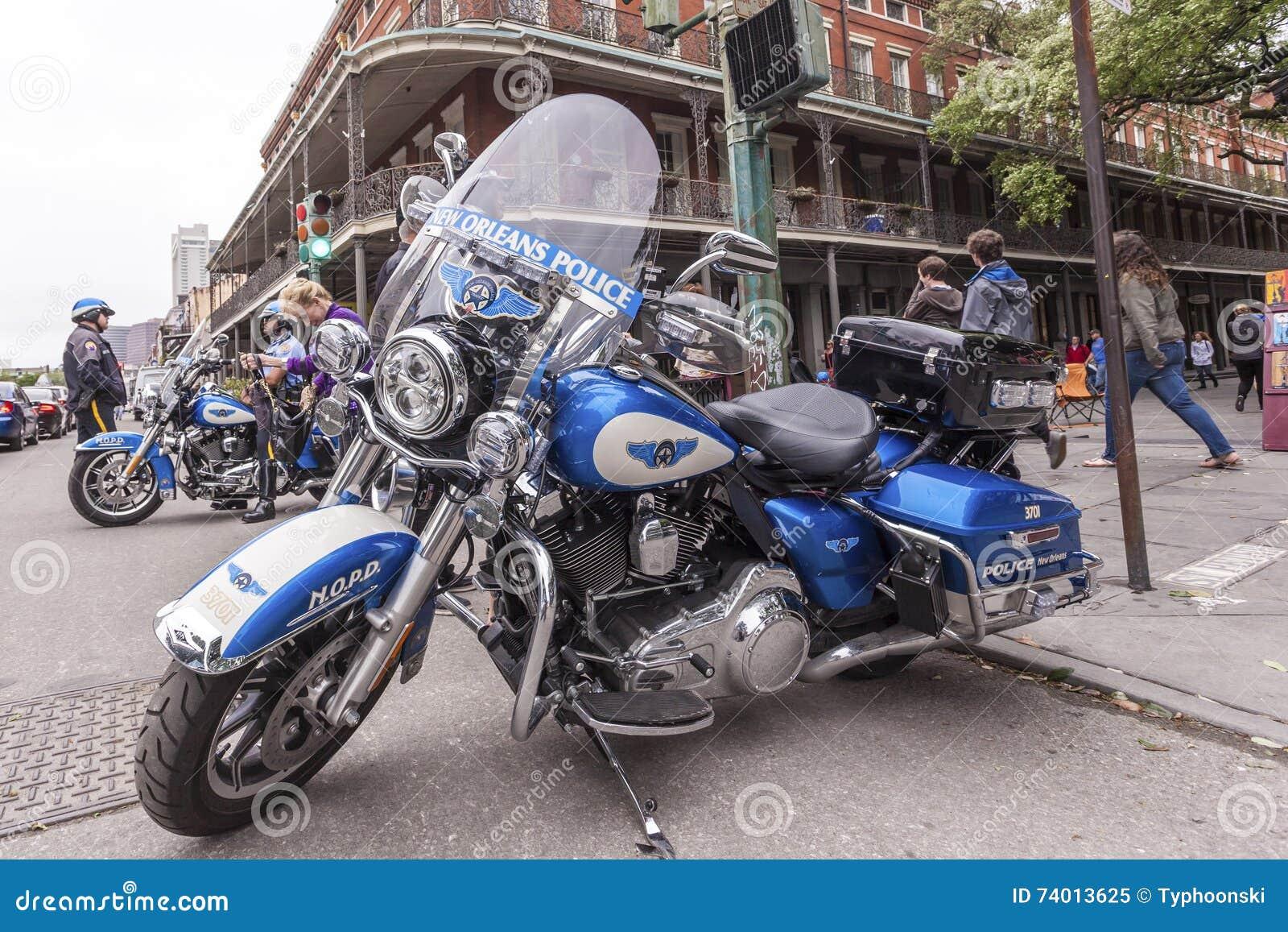 Μοτοσικλέτα αστυνομίας της Νέας Ορλεάνης