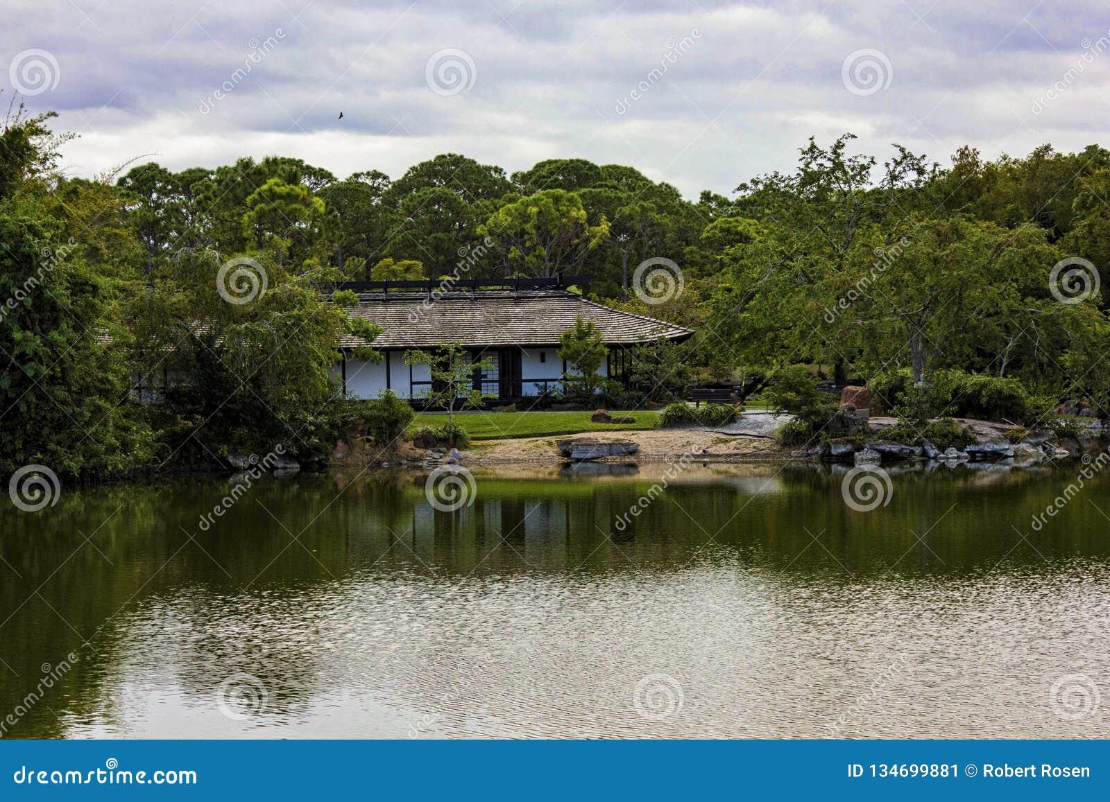 Μουσείο και ιαπωνική παραλία Φλώριδα Morikami Delray κήπων