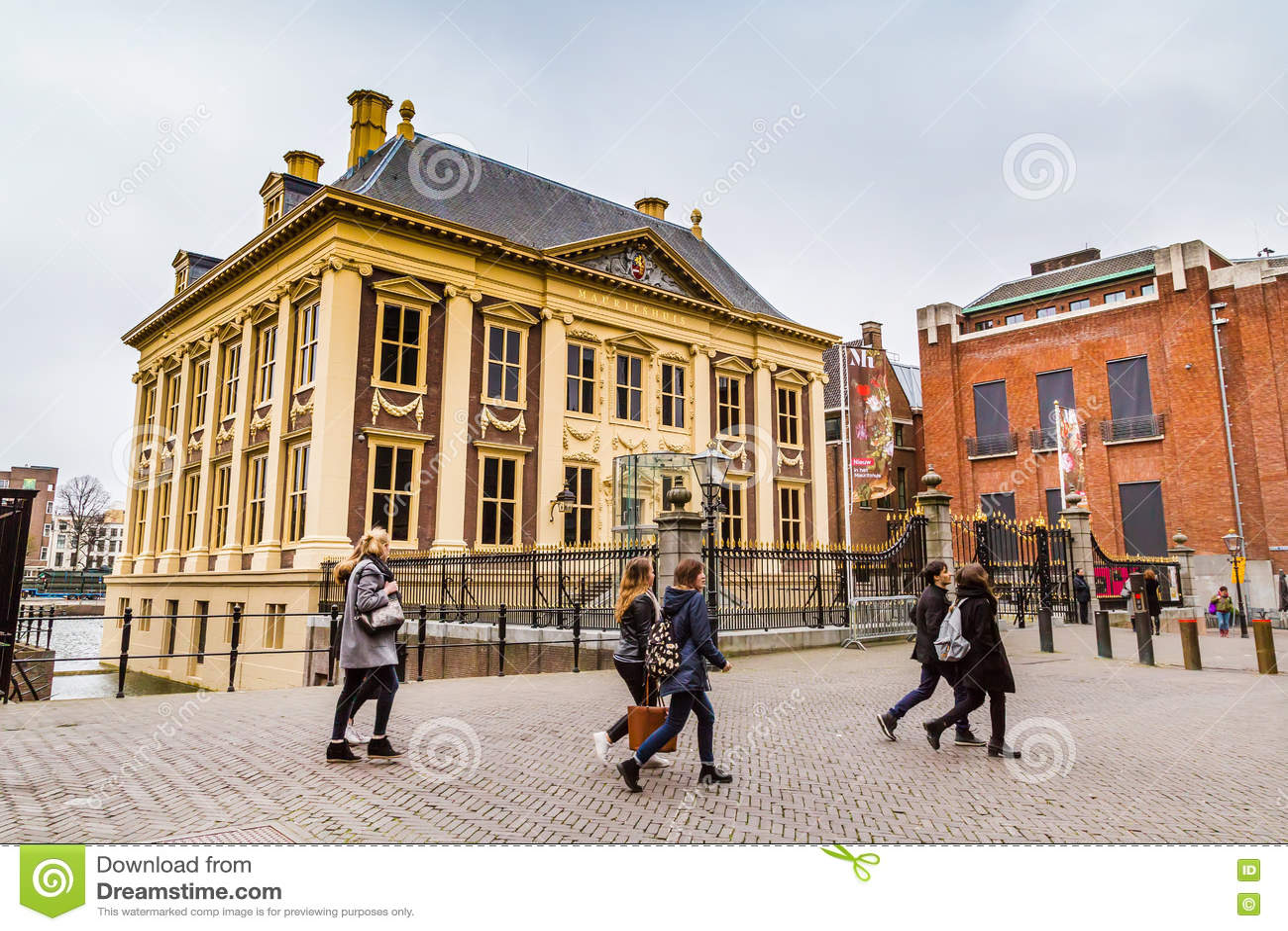 Μουσείο Τέχνης Mauritshuis ή σπιτιών του Maurice στη Χάγη, Ολλανδία