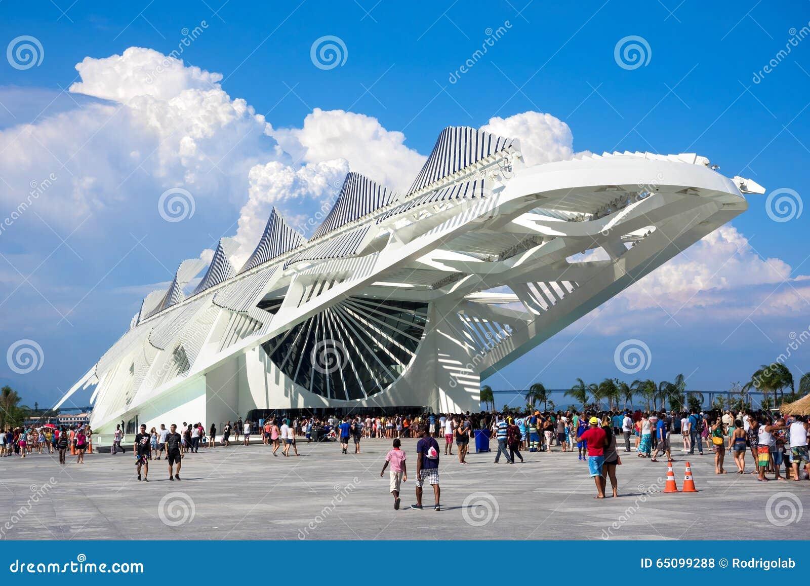 Μουσείο του αύριο στο Ρίο ντε Τζανέιρο, Βραζιλία