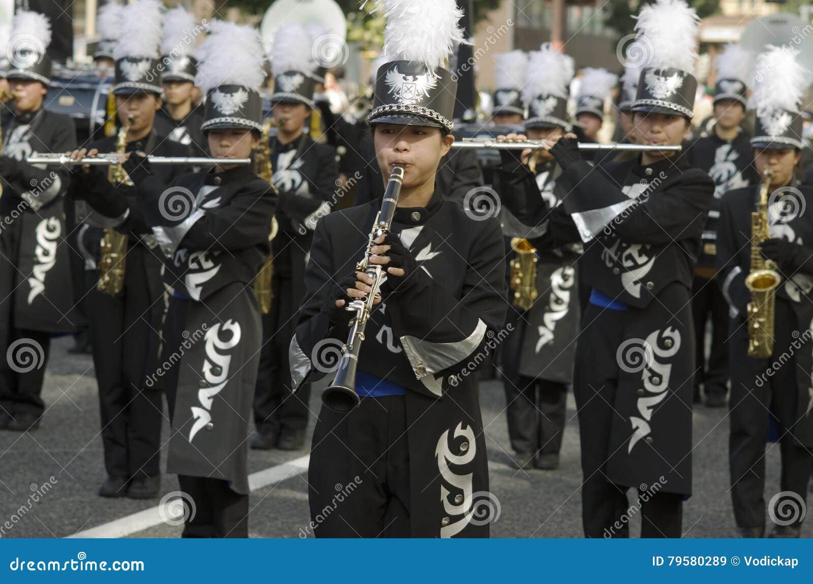 Μουσικοί στο φεστιβάλ του Νάγκουα, Ιαπωνία