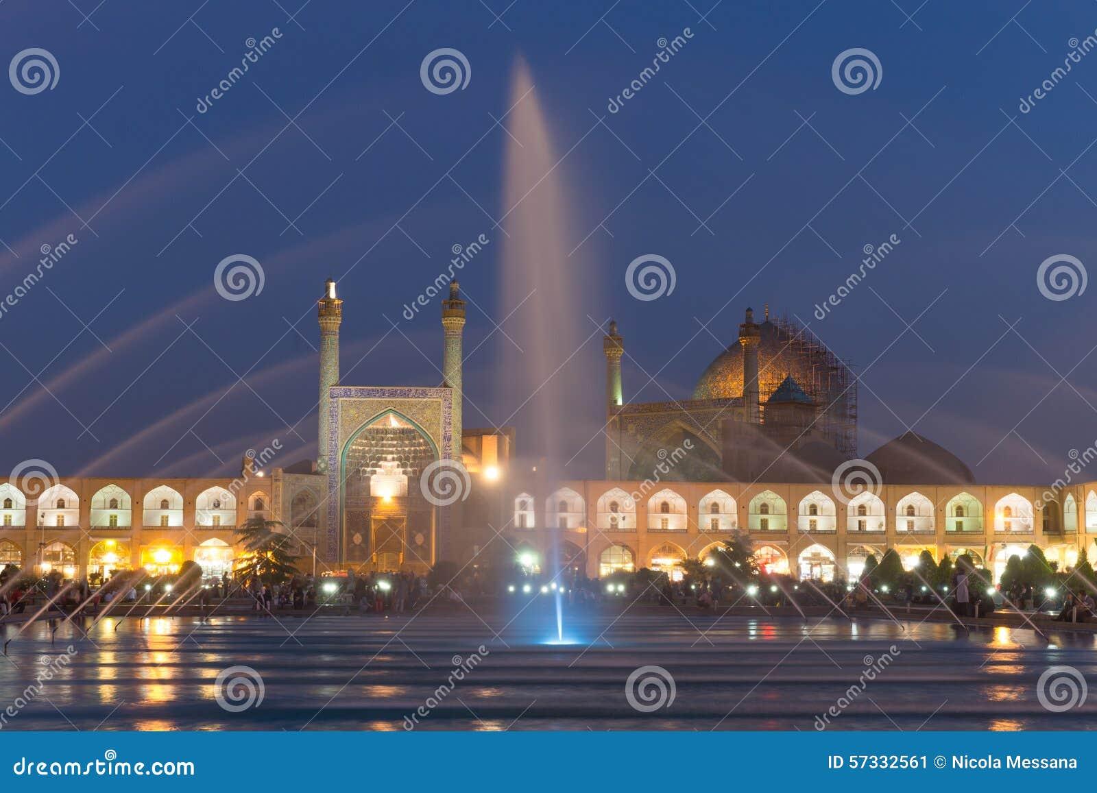 Μουσουλμανικό τέμενος ιμαμών στο τετράγωνο naghsh-ε Jahan στο Ισφαχάν, Ιράν