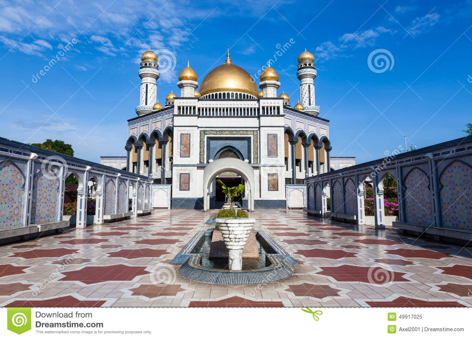 Μουσουλμανικό τέμενος Hassanil Bolkiah Jame asr στο Μπρουνέι