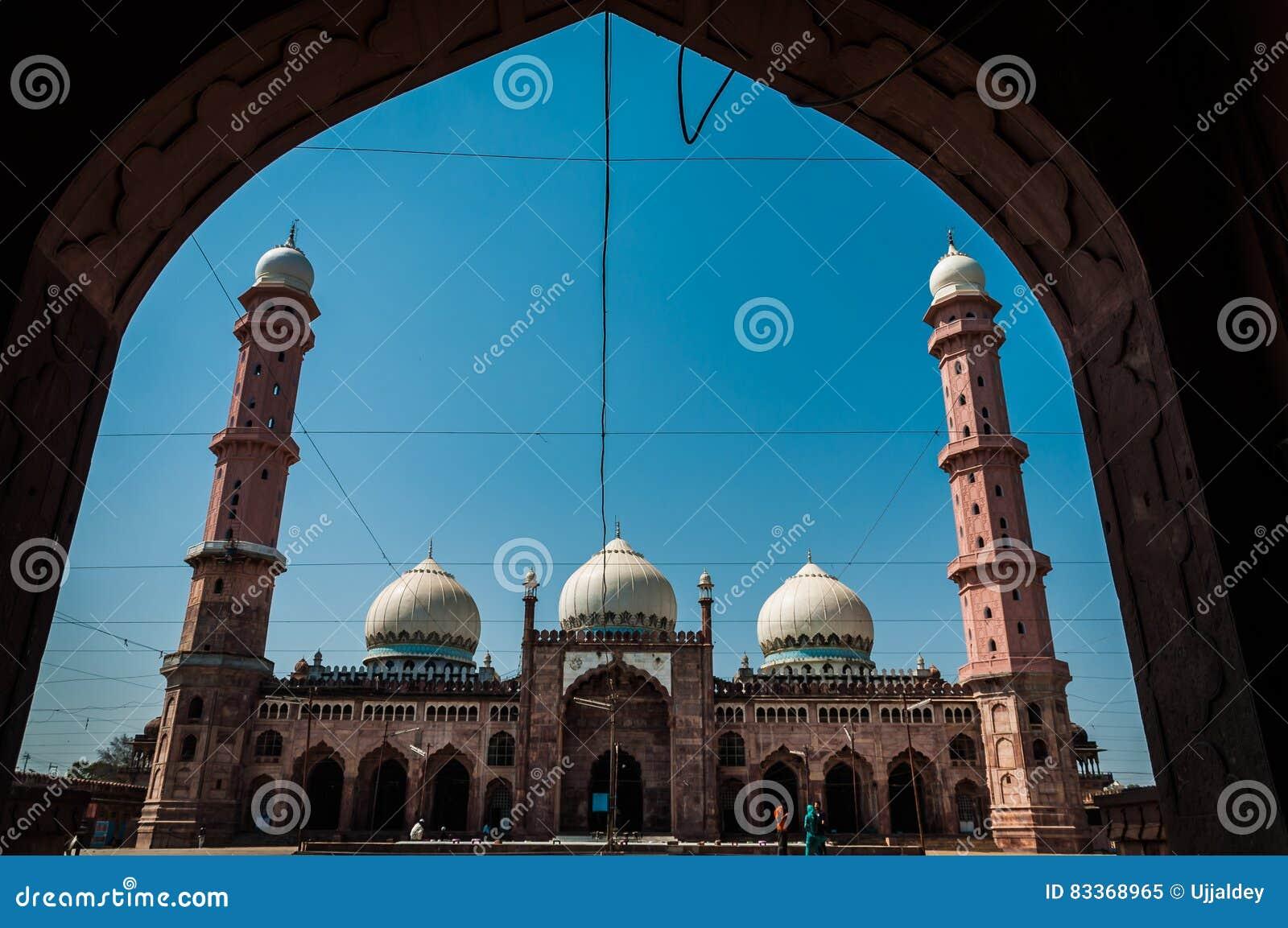 Μουσουλμανικό τέμενος Taj ul, Bhopal, Ινδία
