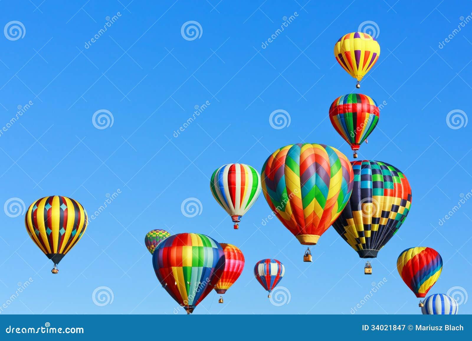 Μπαλόνια ζεστού αέρα
