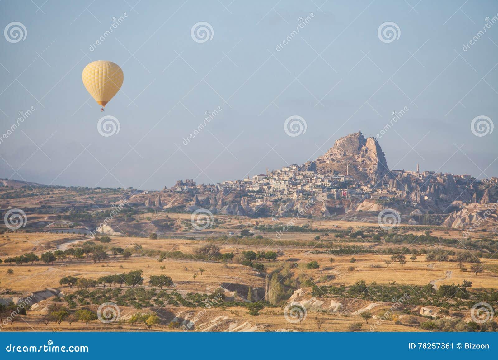 Μπαλόνι ζεστού αέρα σε Cappadocia