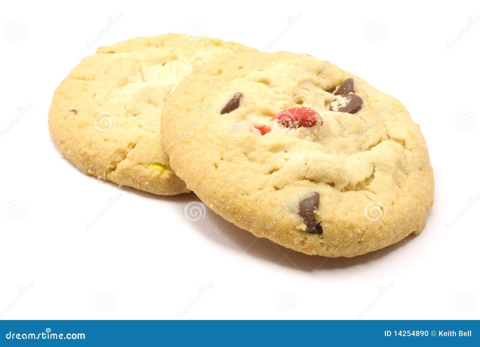 μπισκότα δύο σοκολάτας κ&