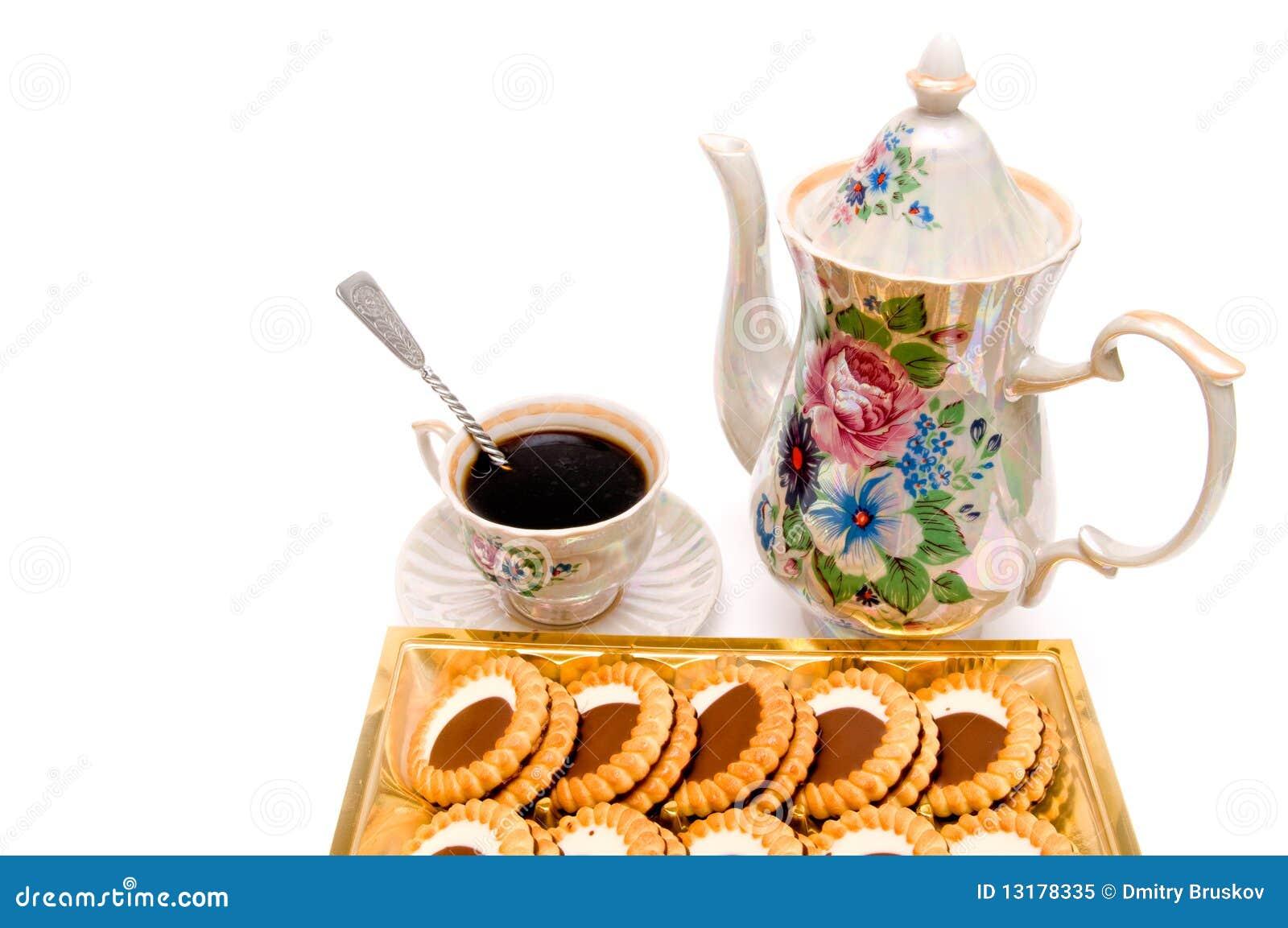 μπισκότα καφέ