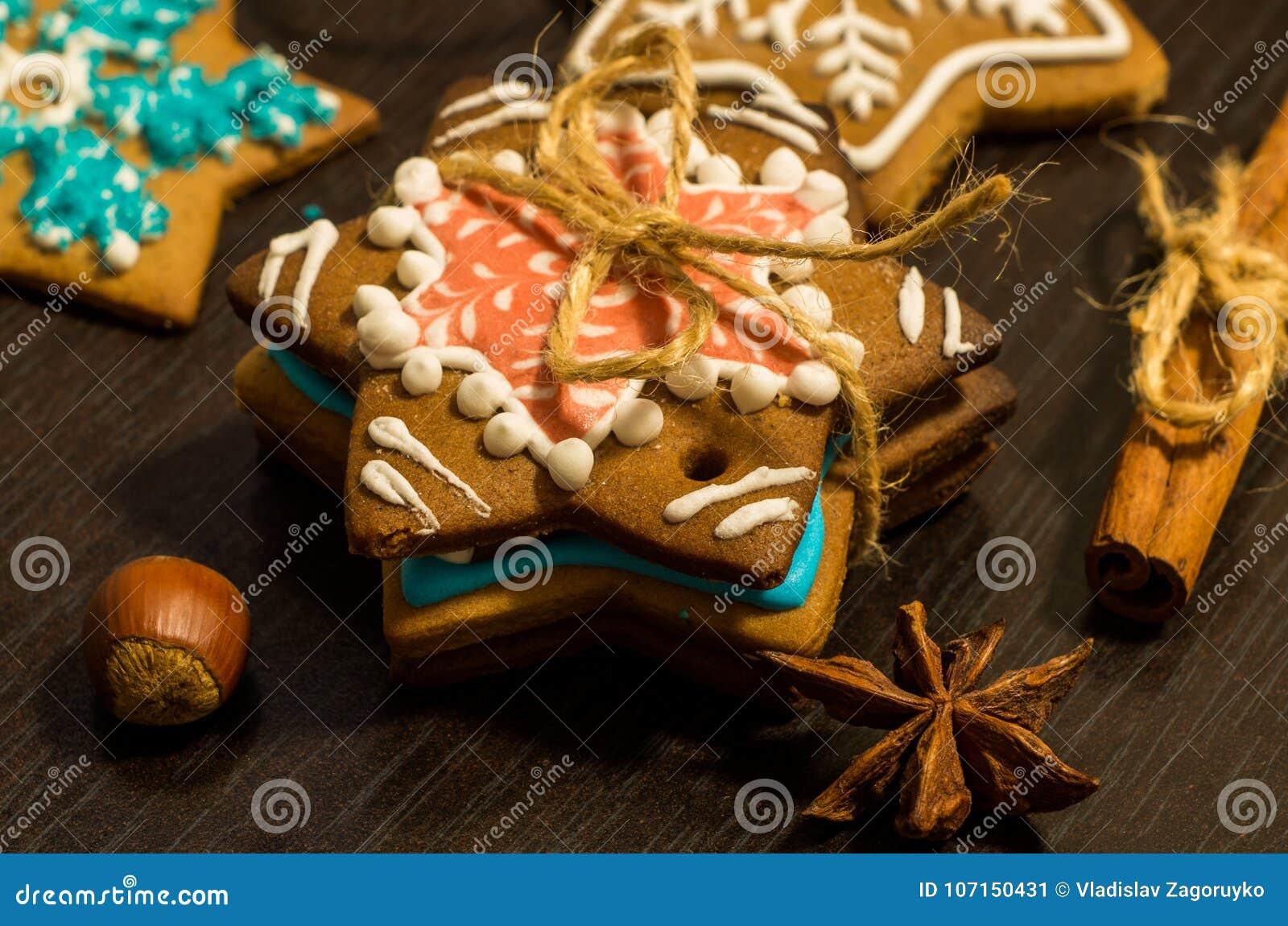 Μπισκότα πιπεροριζών Χριστουγέννων