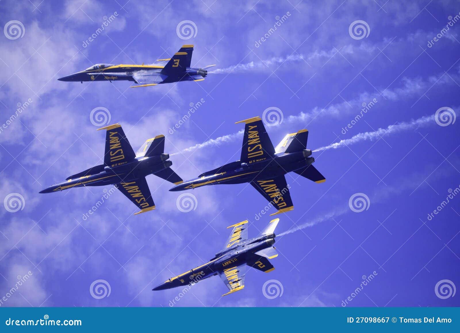 Μπλε άγγελοι σε Kaneohe Airshow