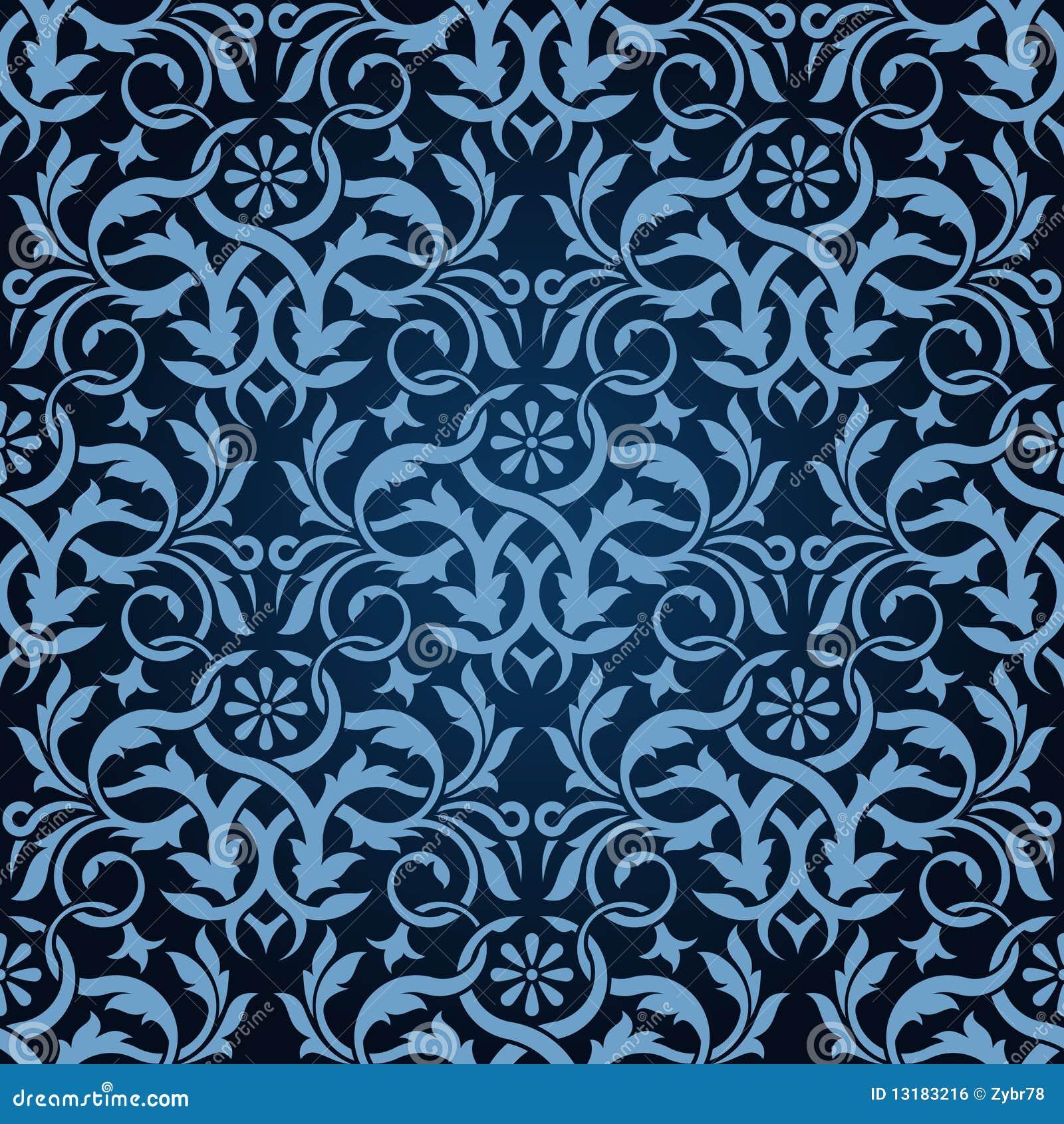 μπλε άνευ ραφής ταπετσαρί&al