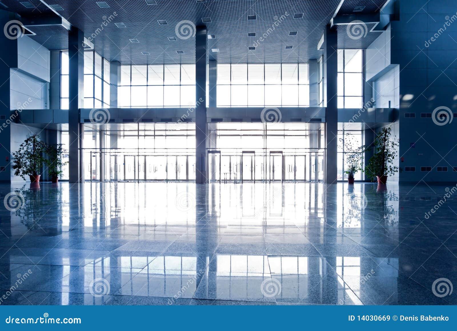 μπλε αίθουσα ευρέως