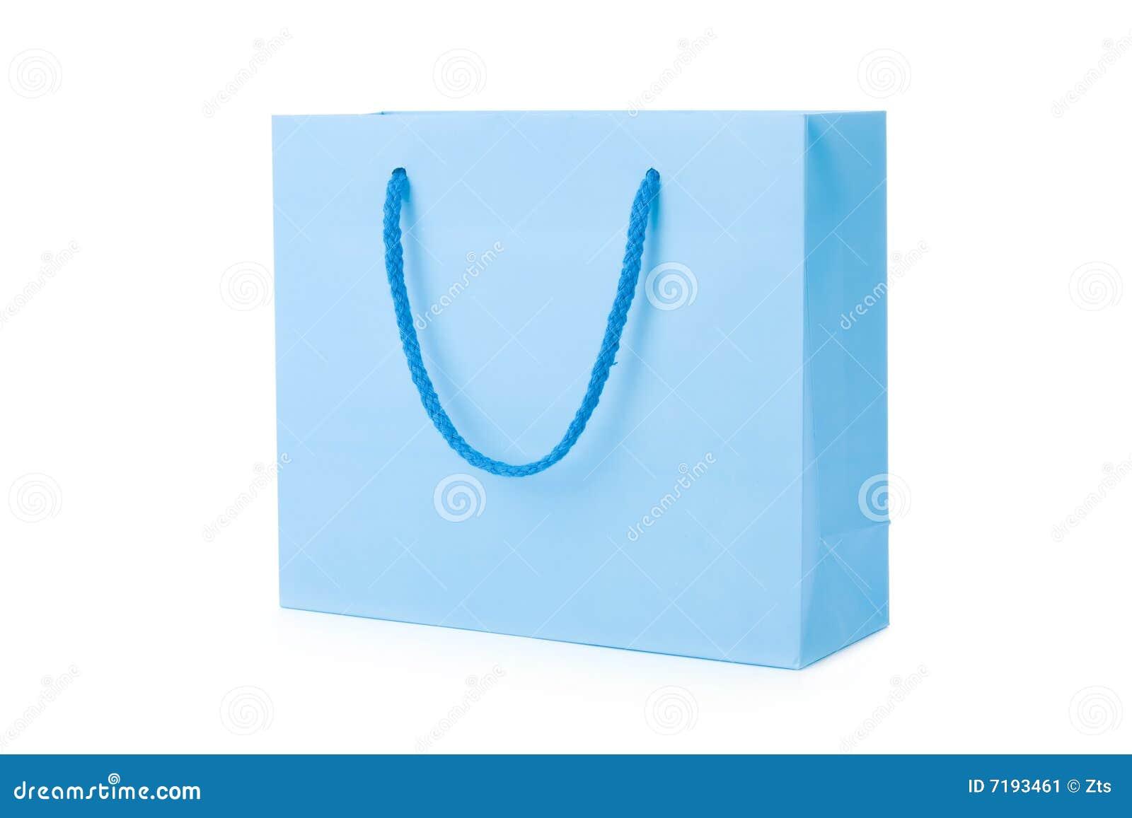 μπλε αγορές τσαντών