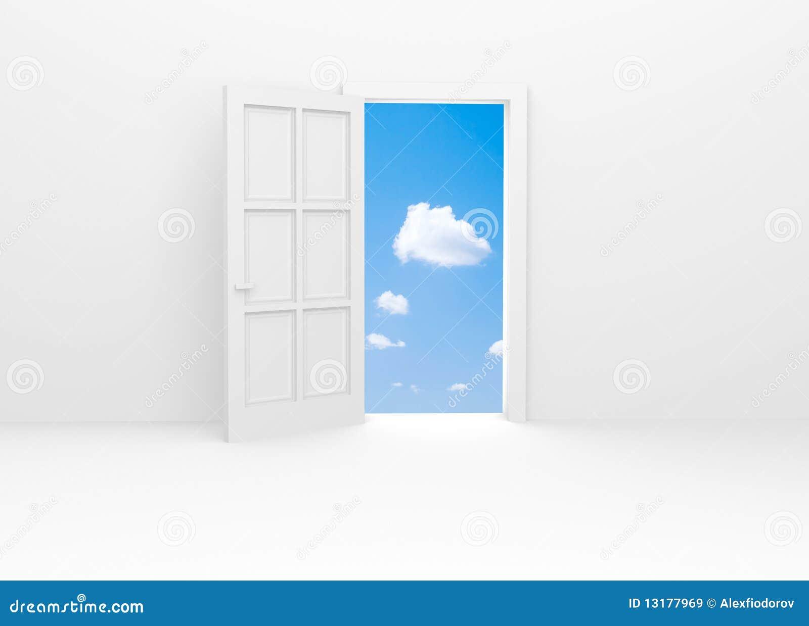 μπλε ανοιχτός ουρανός πο