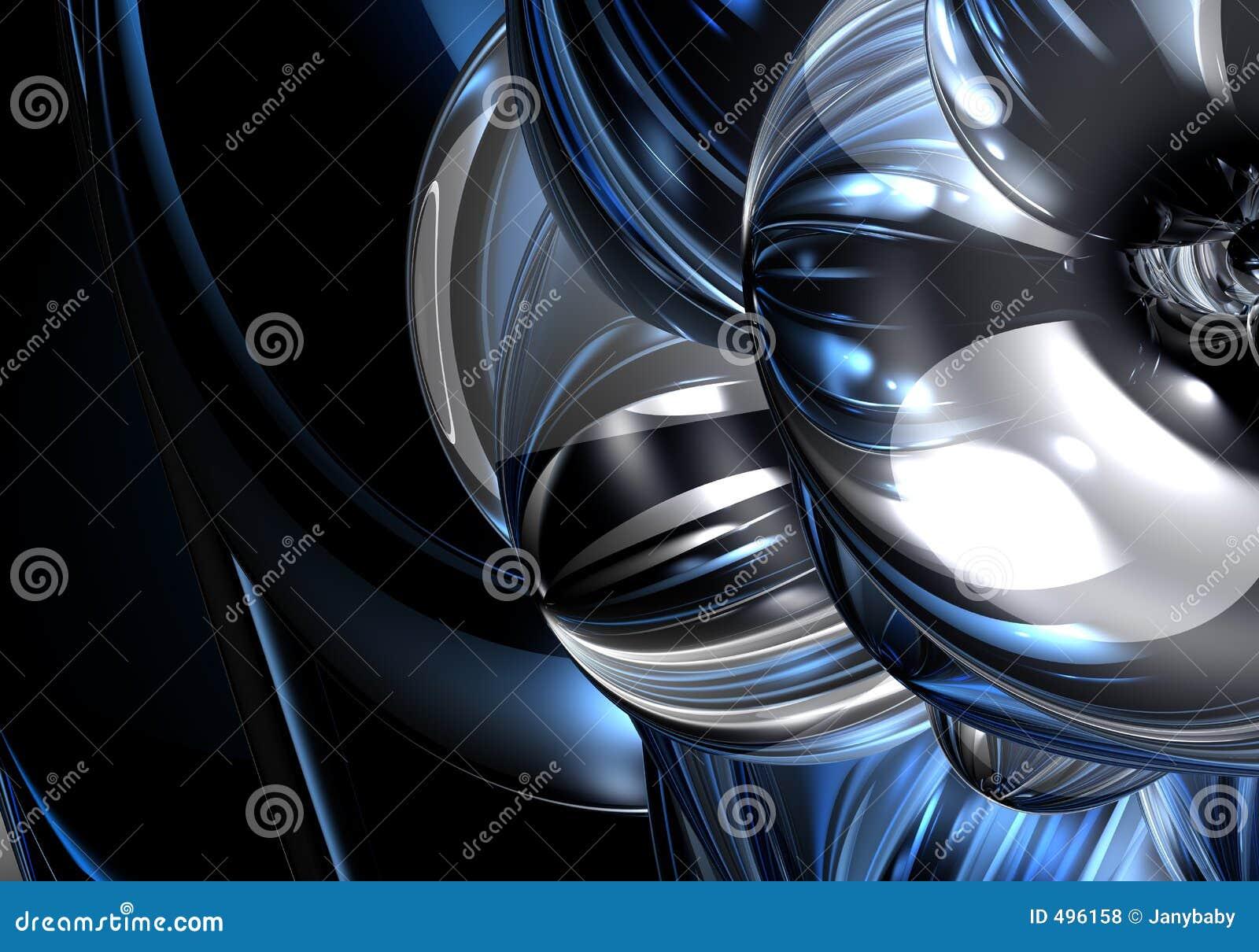 μπλε ασήμι metall 06