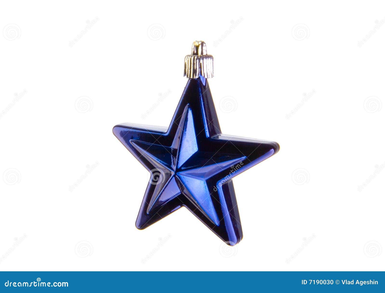 μπλε αστέρι Χριστουγέννω&nu